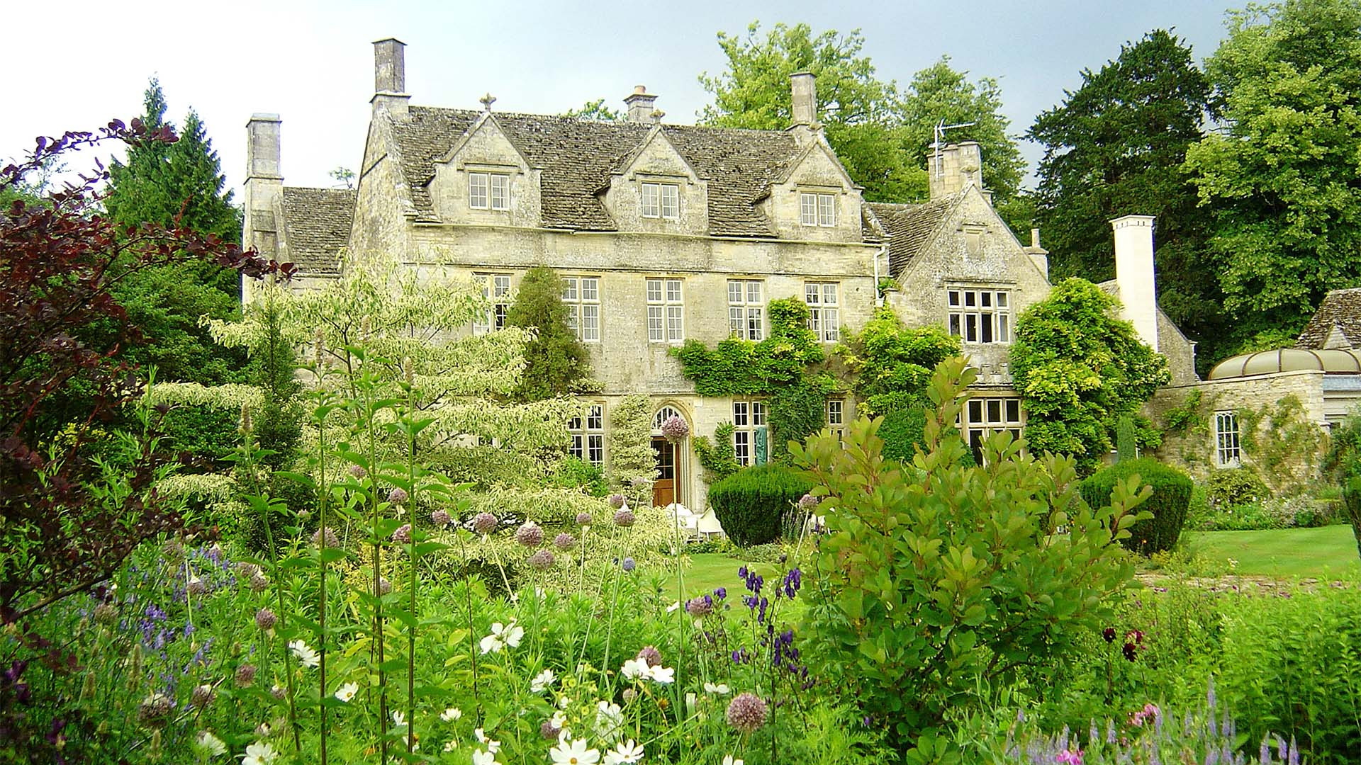 Barnsley House hotel, Barnsley – near Cirencester in the Cotswolds