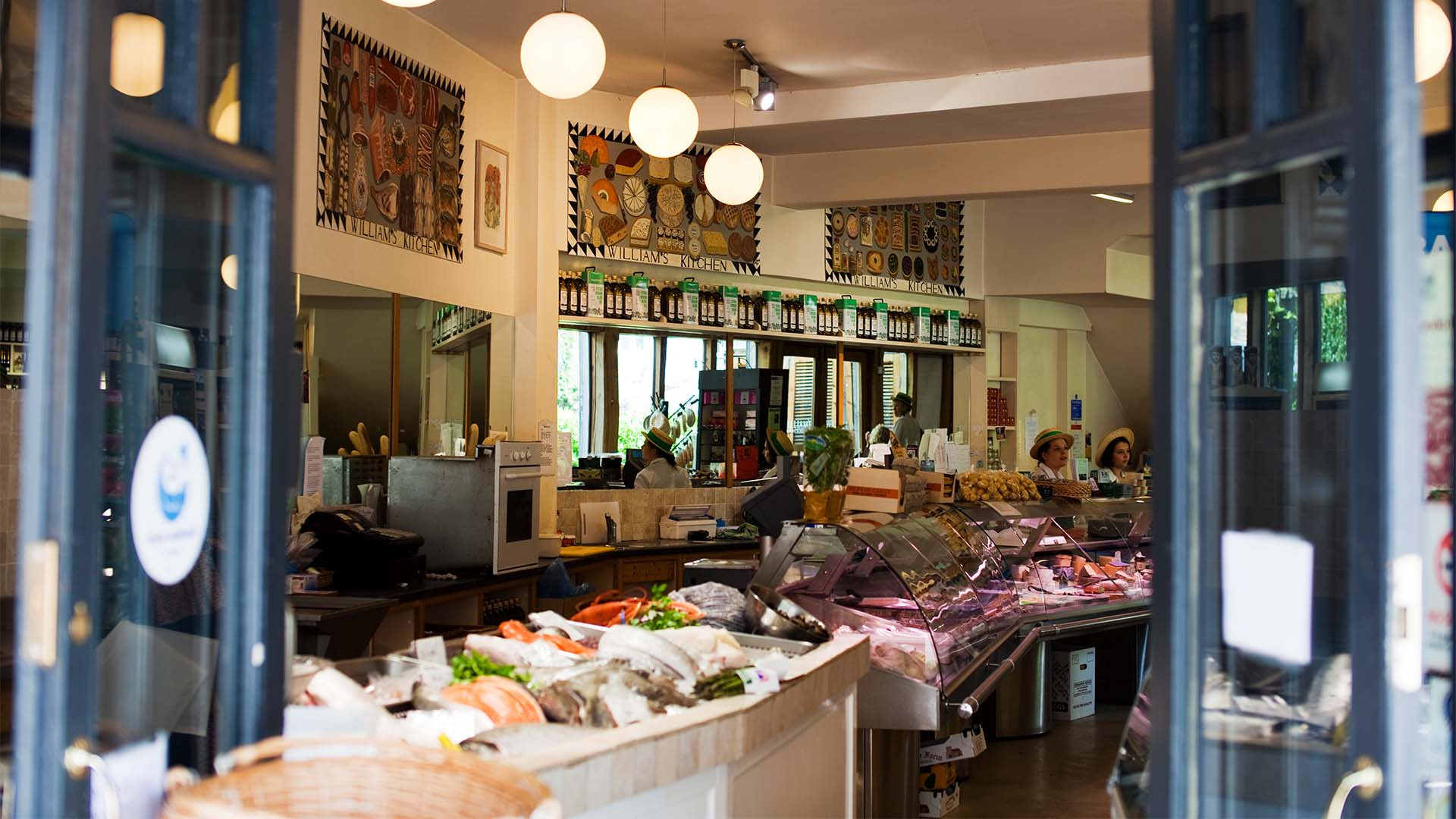 William's Food Hall in Nailsworth, the Cotswolds