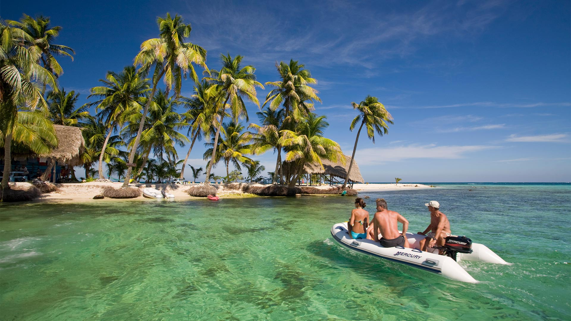 Belize's pristine white beaches
