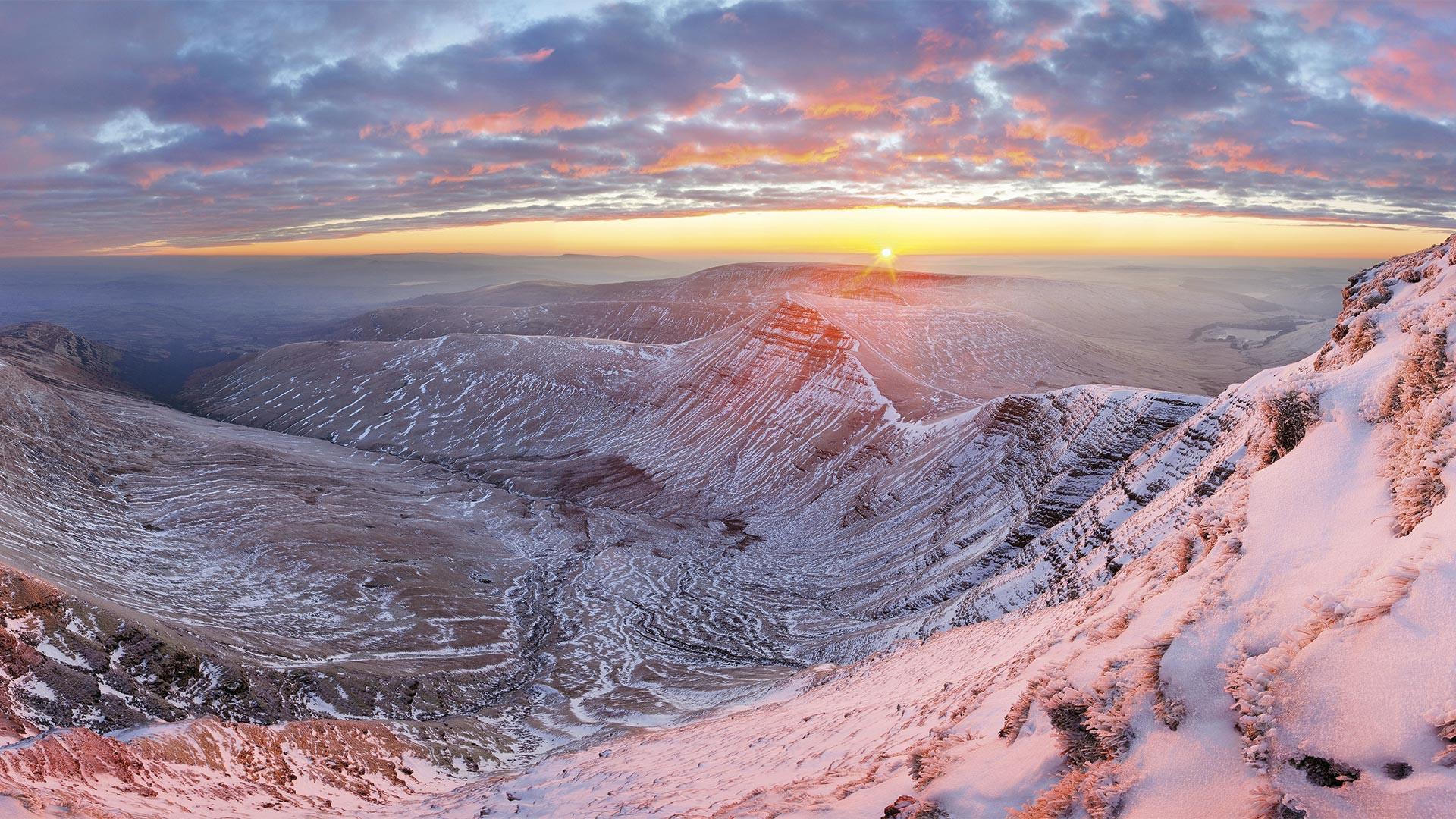 'Pen y Fan', Brecon Beacons, Wales