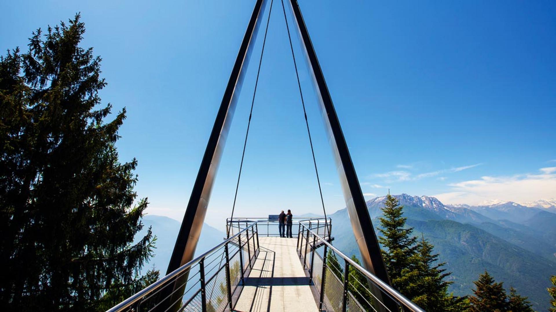 Viewpoint near Ascona, Lake Maggiore, Switzerland