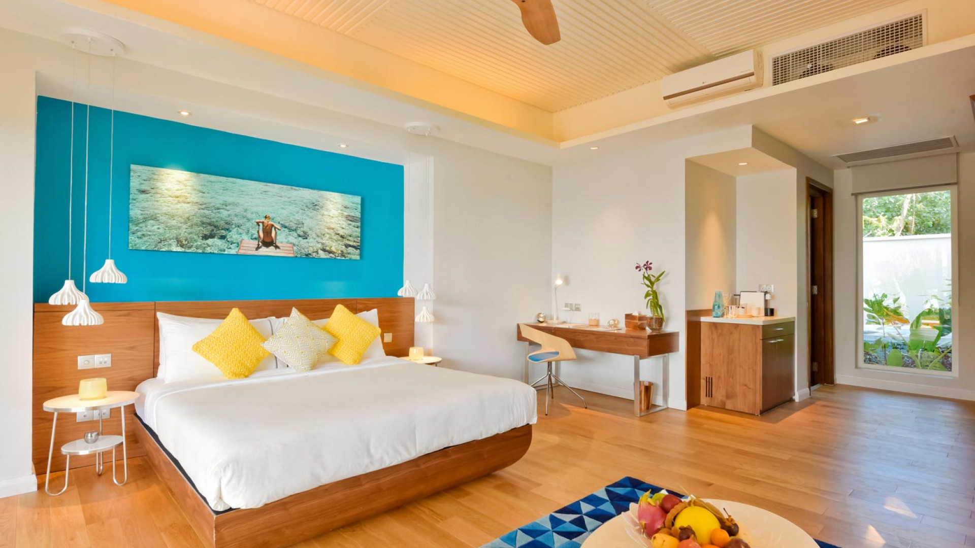 Double room at Kandima Maldives