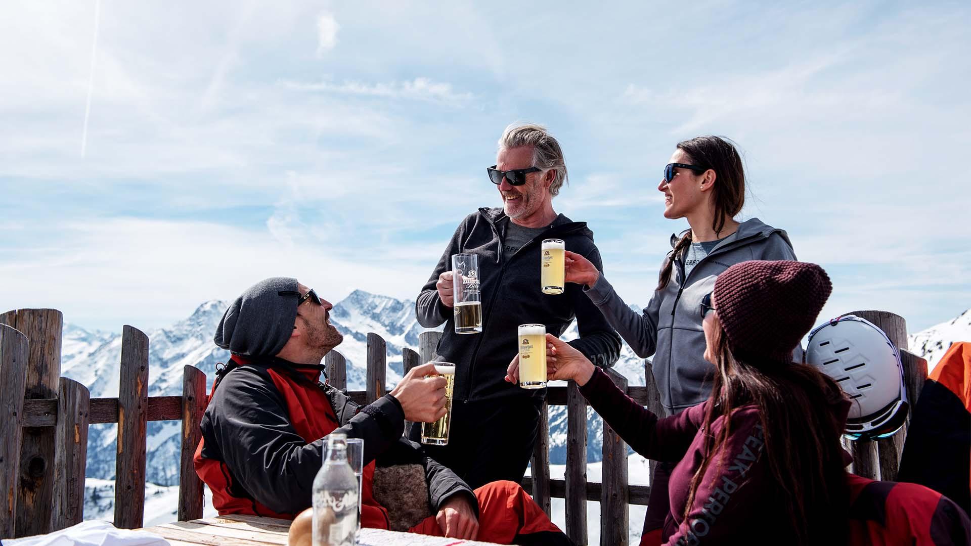 Après ski in Zillertall, Austria