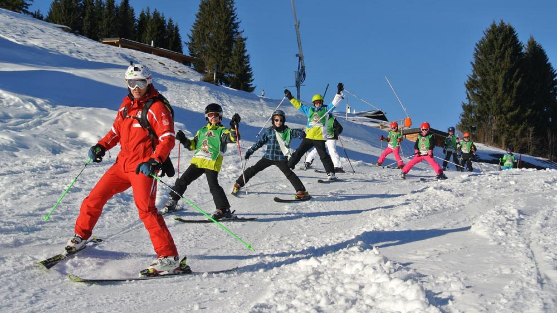 Ski School at Alphotel, Austria