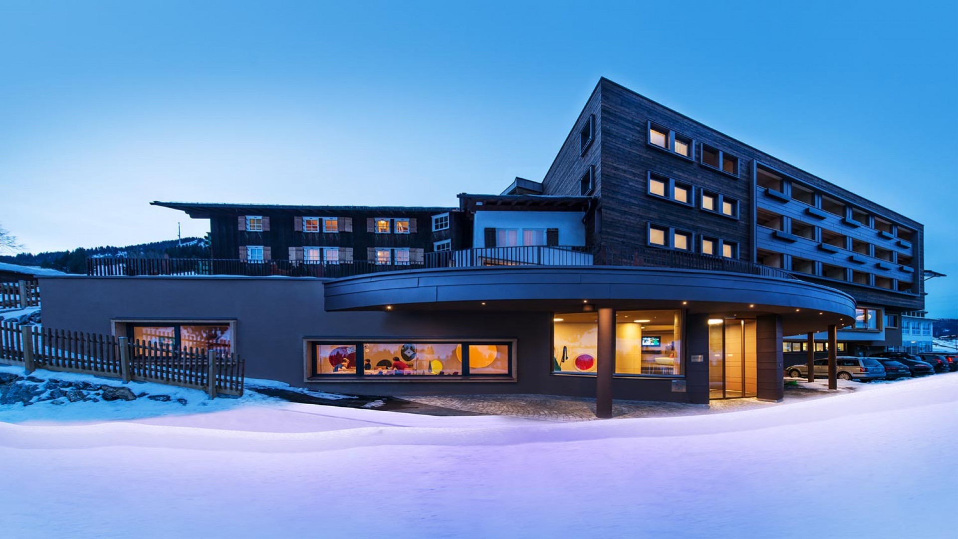 Alphotel, Austria