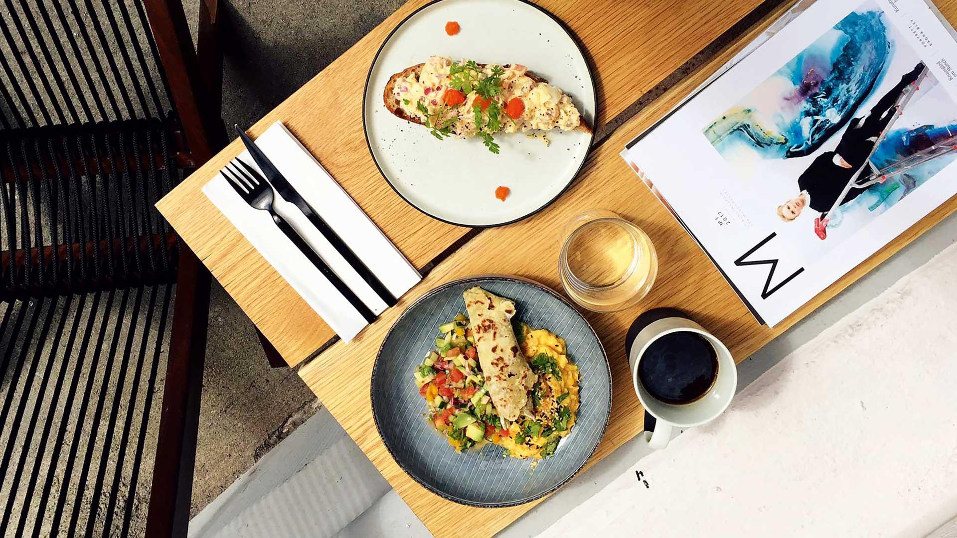 Food at Grådi, Oslo, Norway