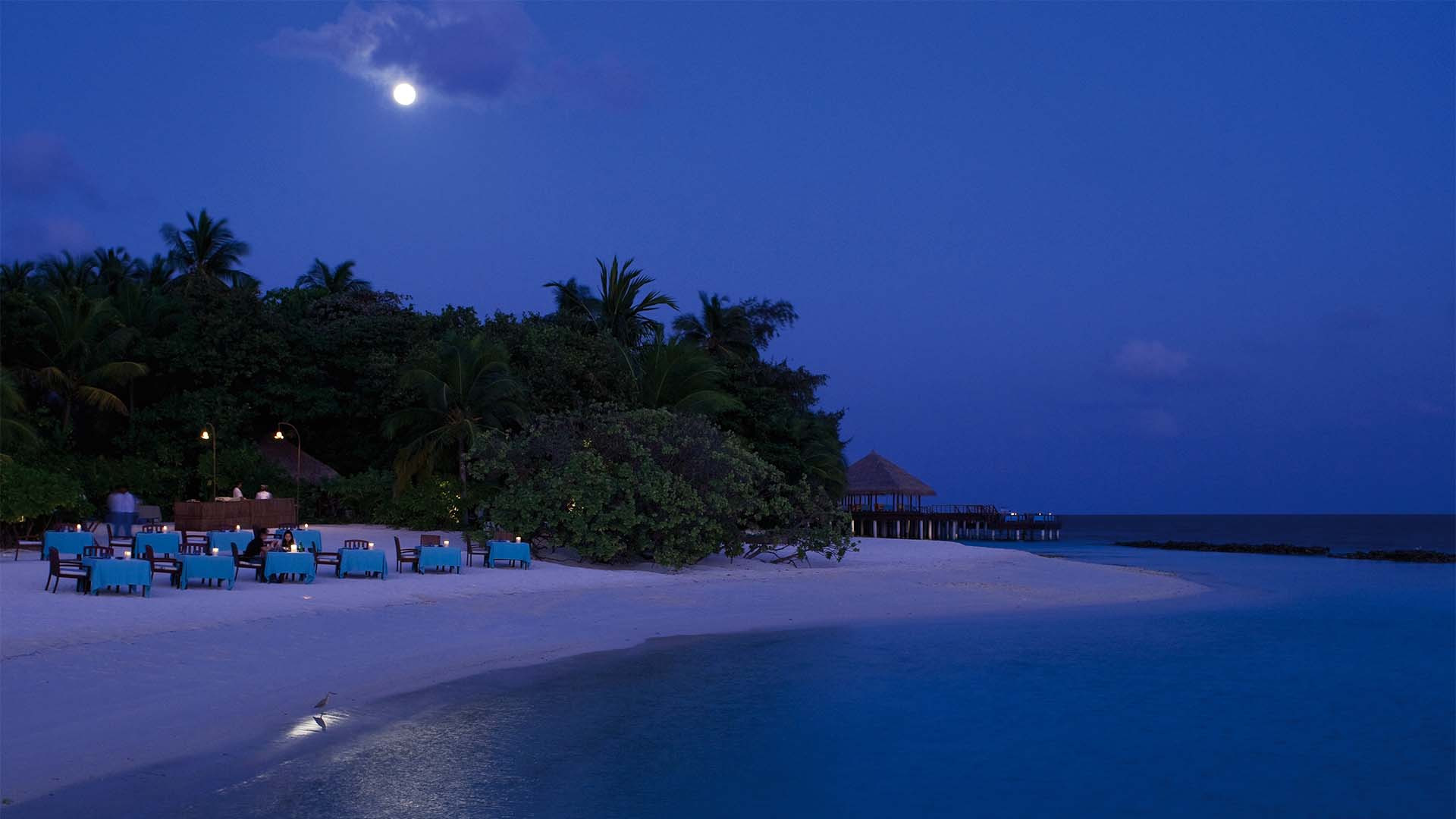Beach at Coco Bodu Hithi Maldives
