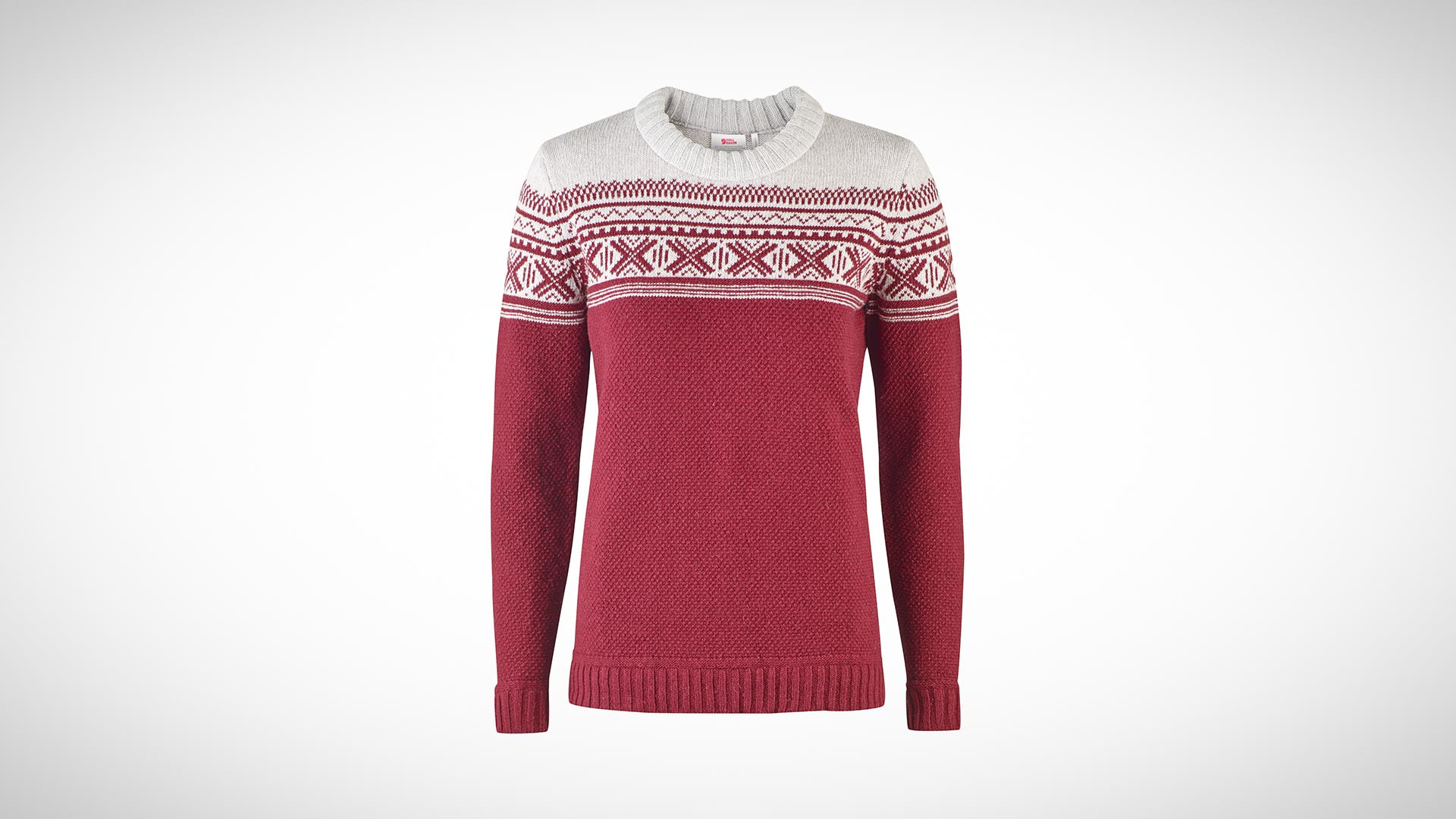 Fjallraven Övik knit sweater is a great gift for Christmas 2017