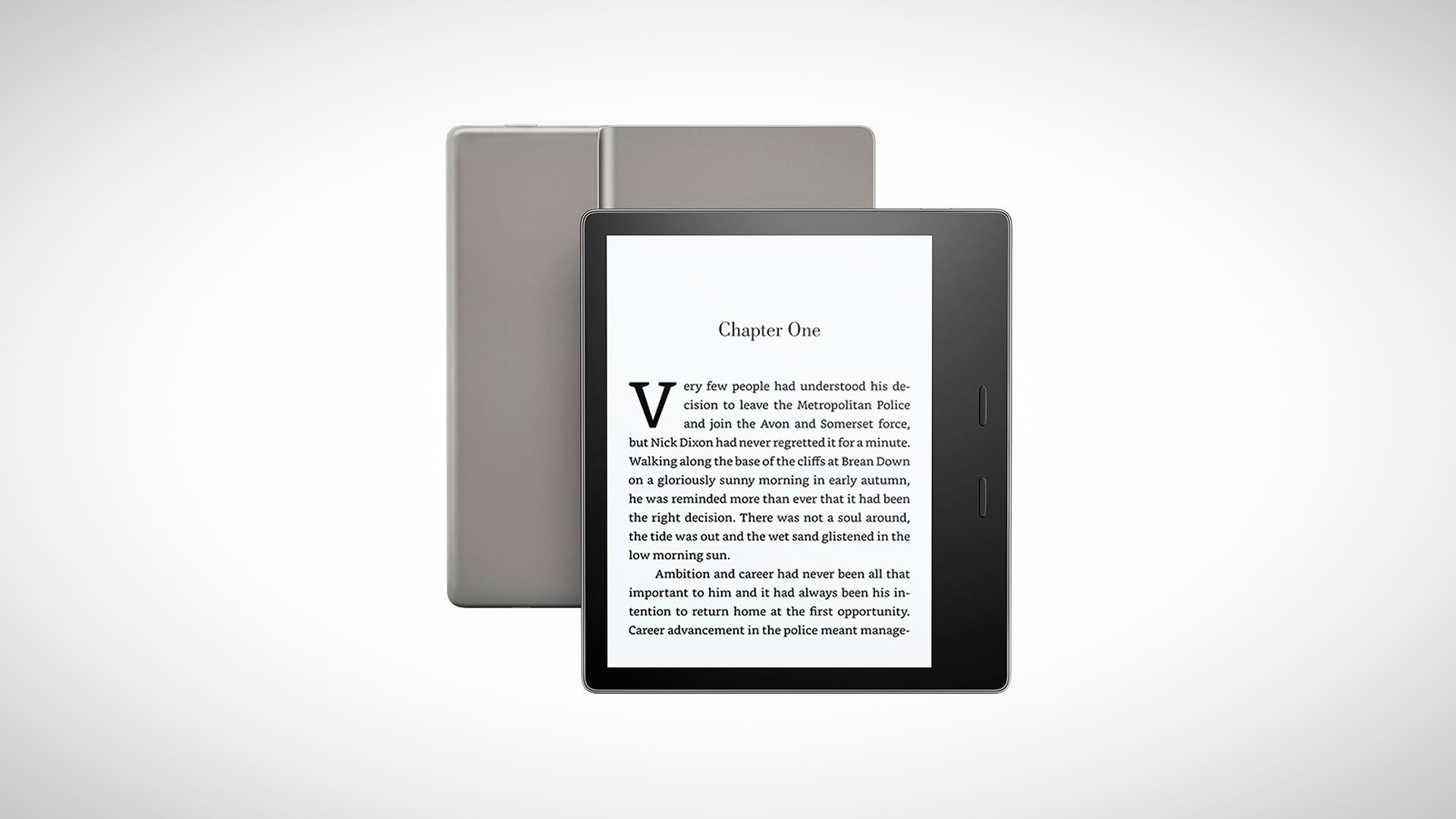 The all-new Kindle Oasis e-reader for Christmas 2017