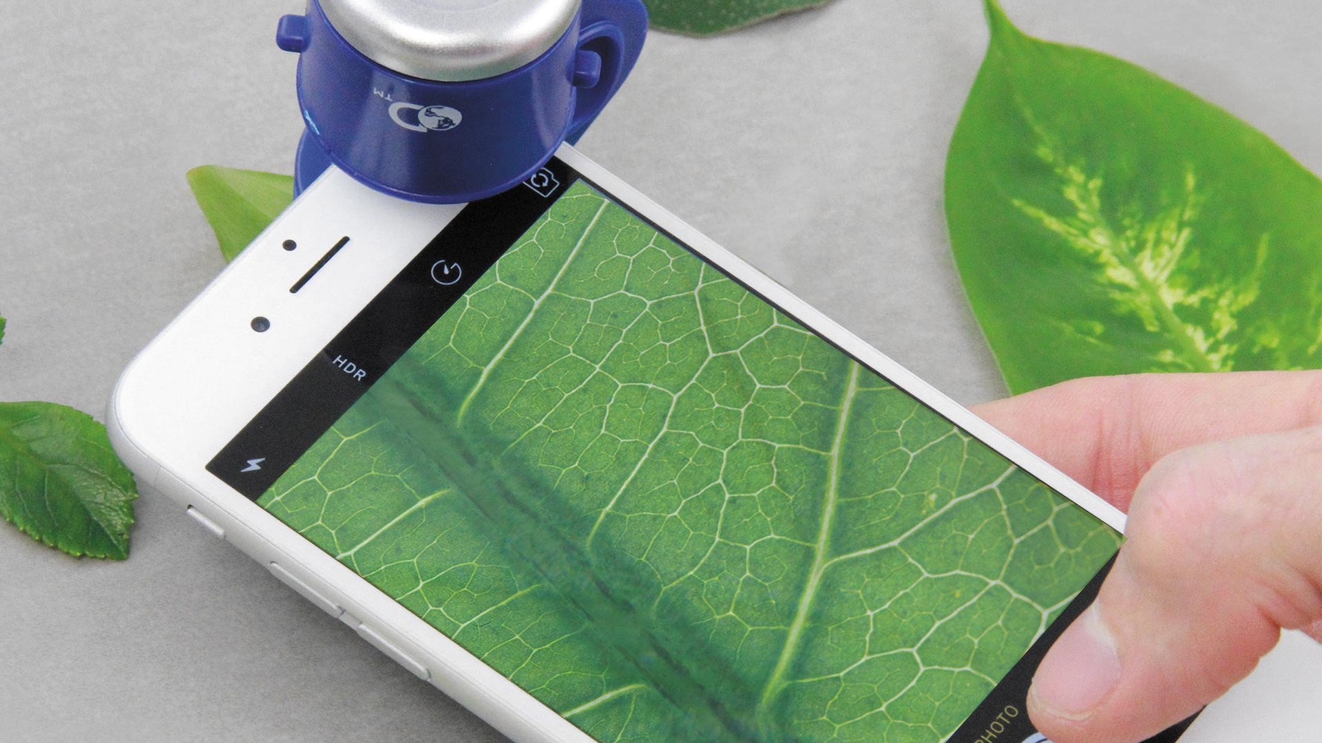 Discovery Channel smartphone microscope