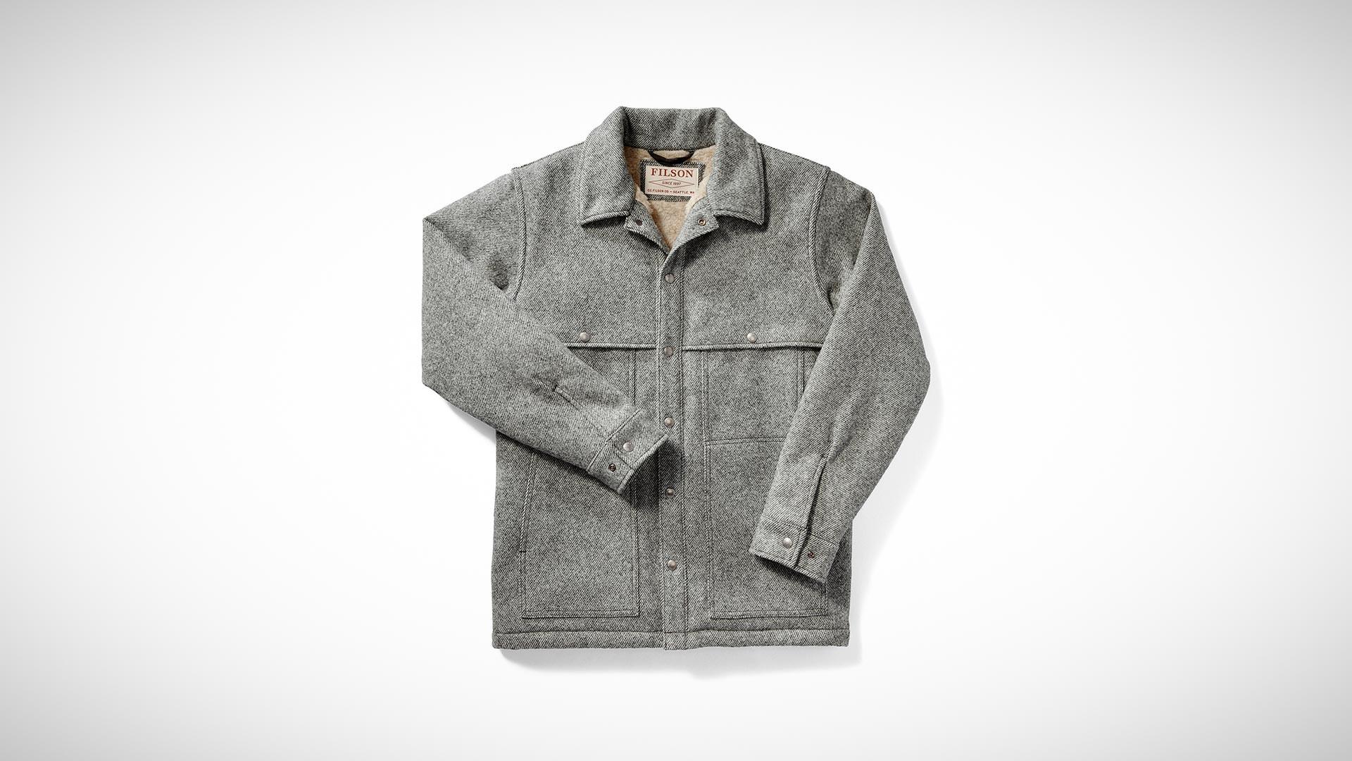 Filson Line Wool Cape coat for Christmas 2017