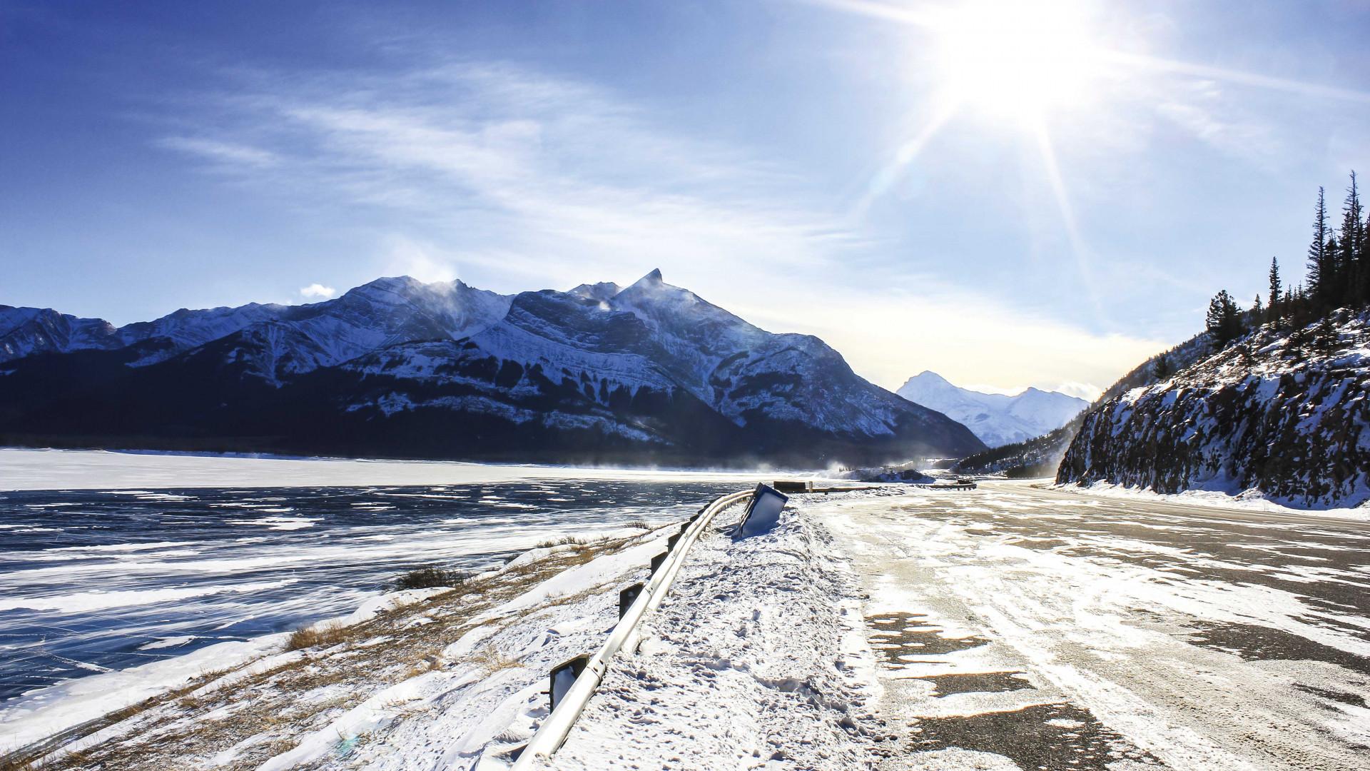 Road tripping in Alberta, Canada