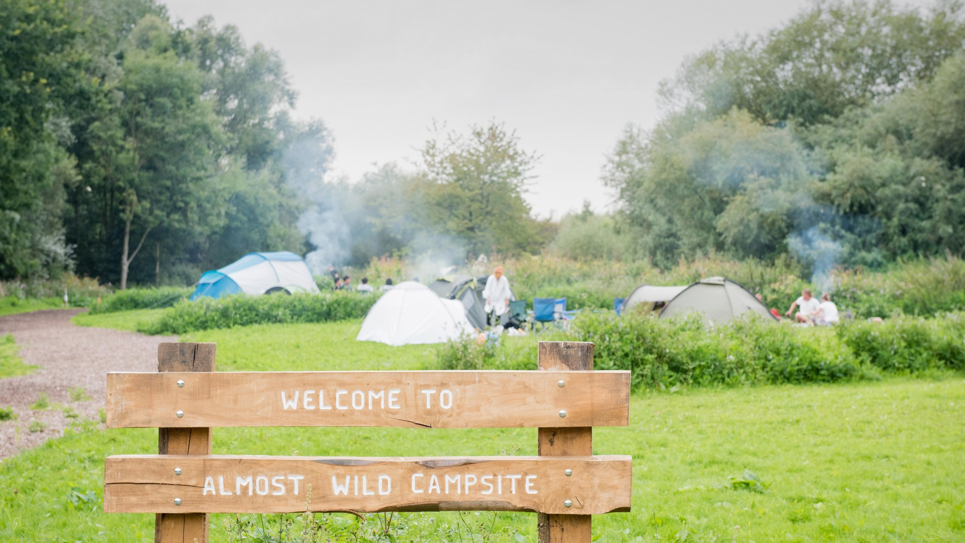 The Lee Valley Almost Wild Campsite near London