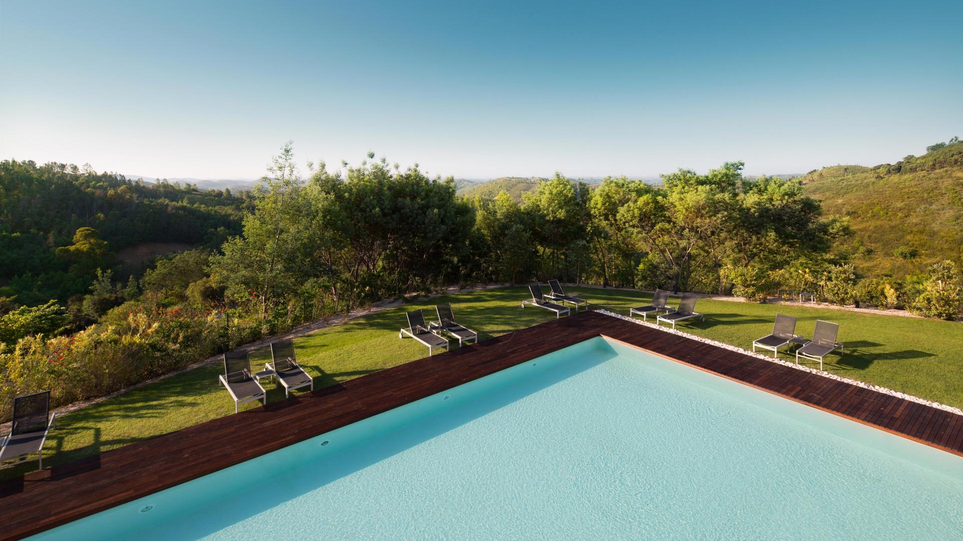 Pool at Macdonald Monchique Resort & Spa, Algarve