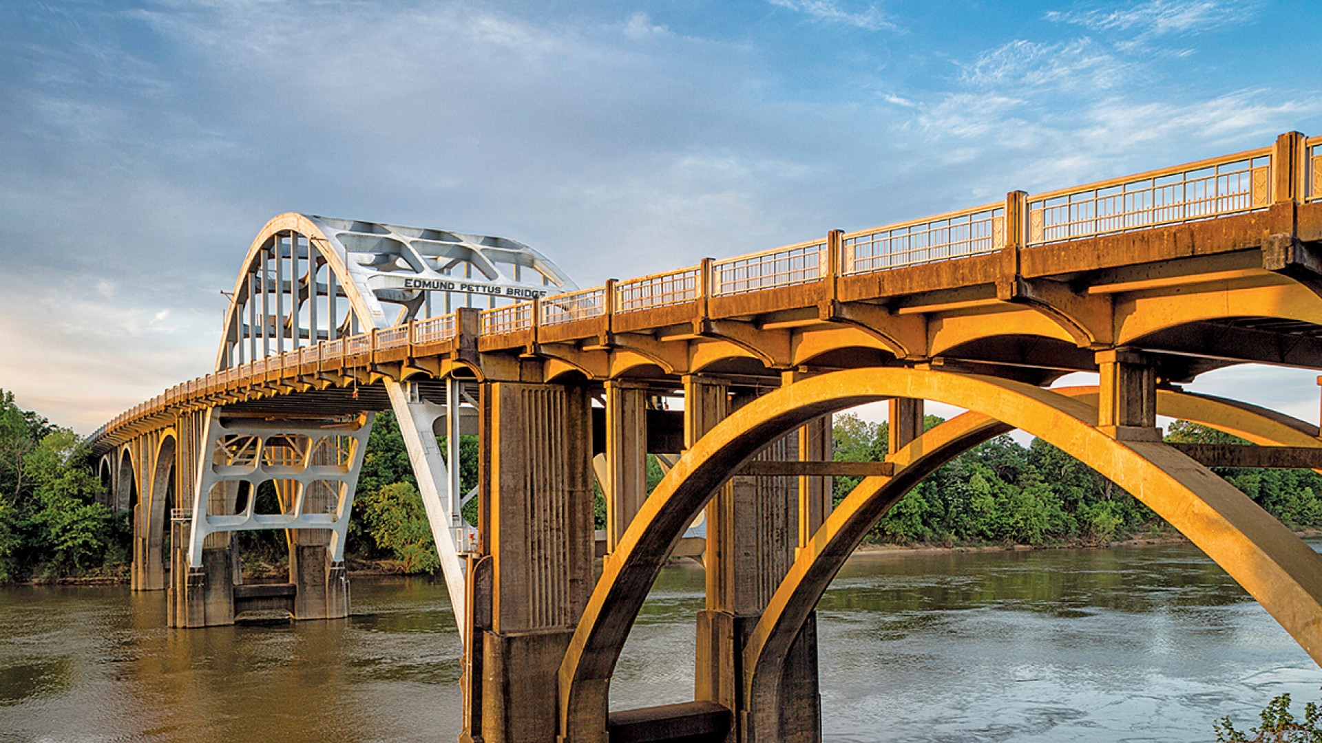 Edmund Pettus Bridge, part of the new Civil Rights Trail in the US