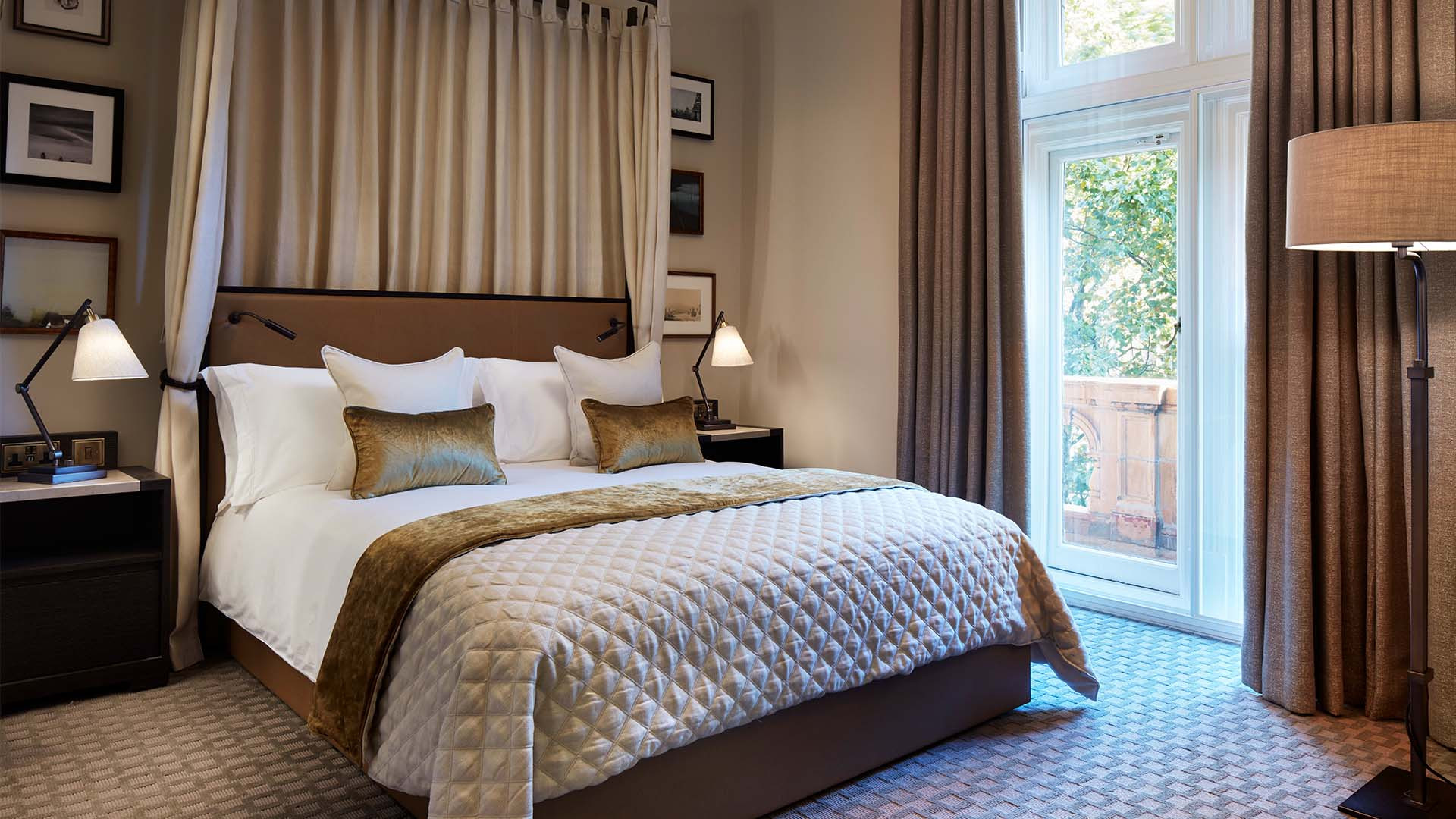 A bedroom at Principal London hotel, Russell Square