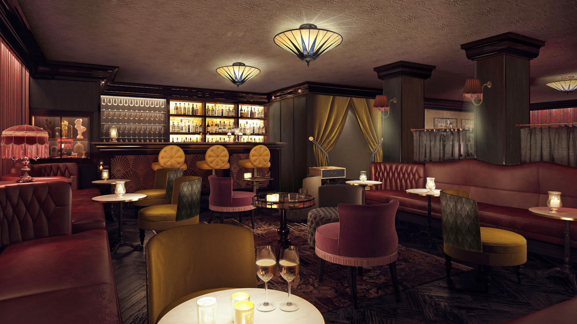 DND, the speakeasy-style bar at new City hotel Vintry & Mercer