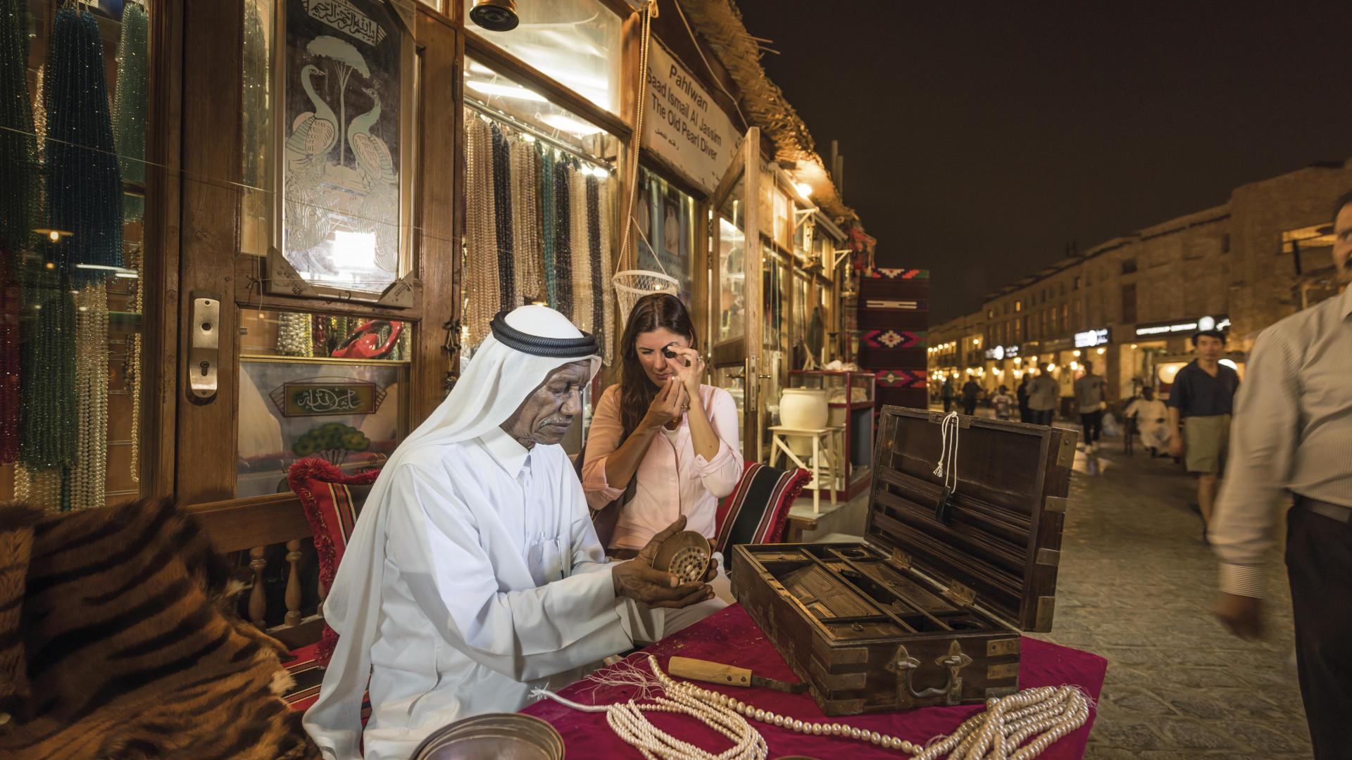 Exploring Souq Waqif in Doha, Qatar