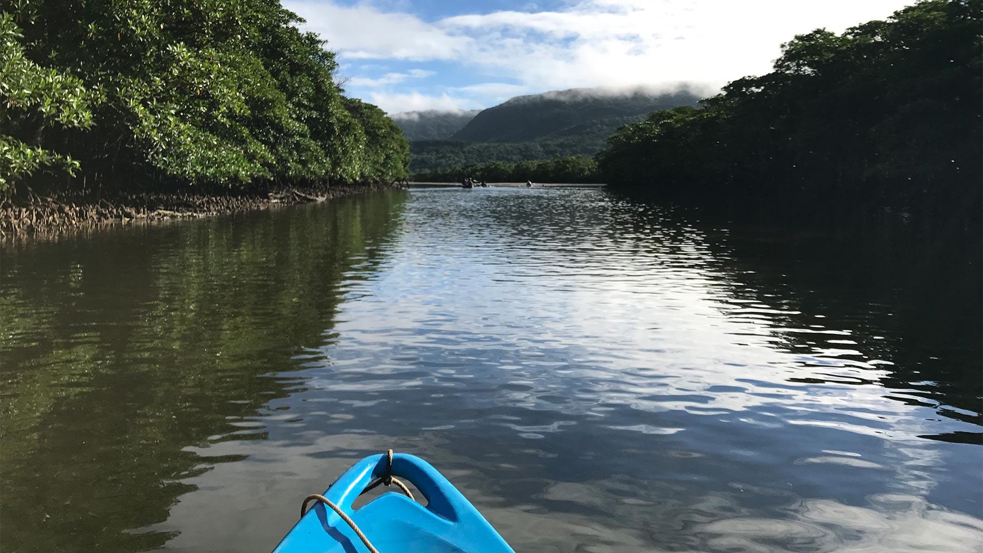 Kayaking on Iriomote Island, Japan