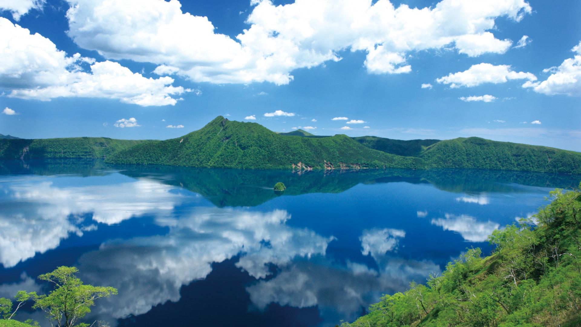 Landscape in Eastern Hokkaido, Japan