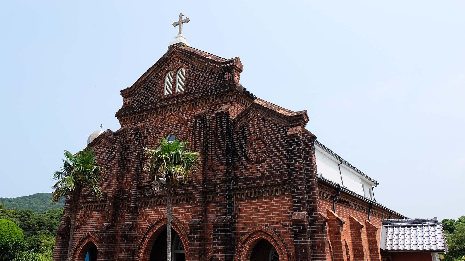 One of the stunning historic churches of Japan's Goto Islands