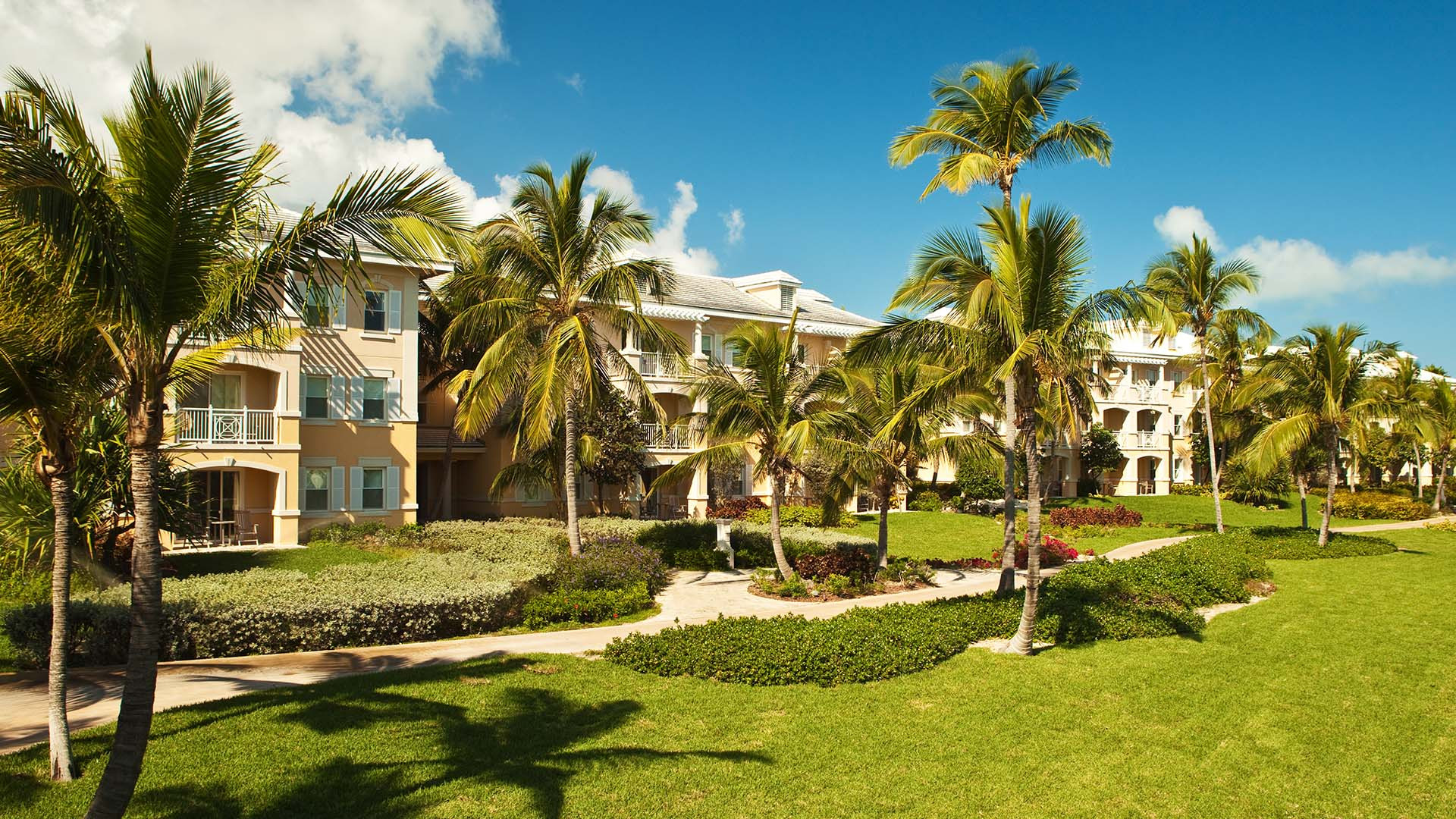 The villas at Sandals Emerald Bay, The Bahamas