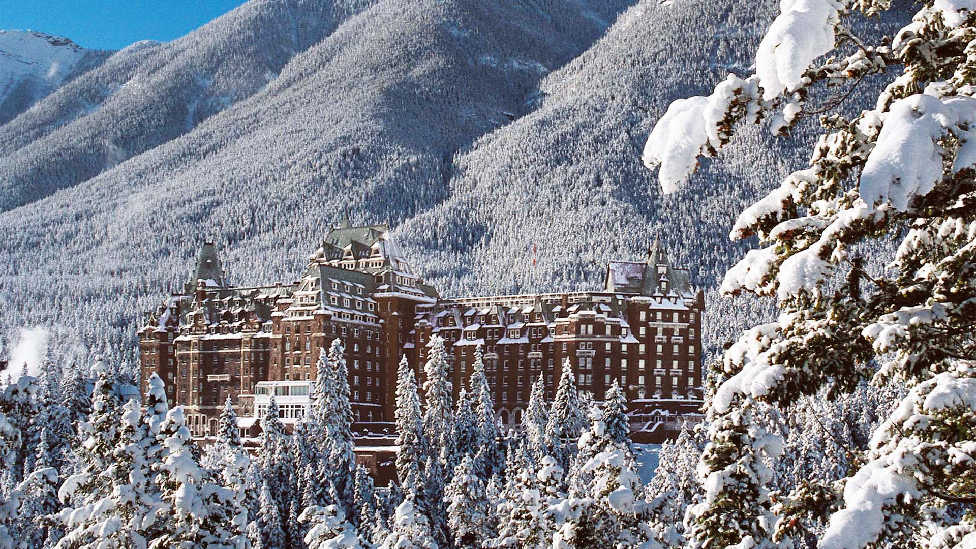 Castle in the Rockies, Fairmont Banff Springs