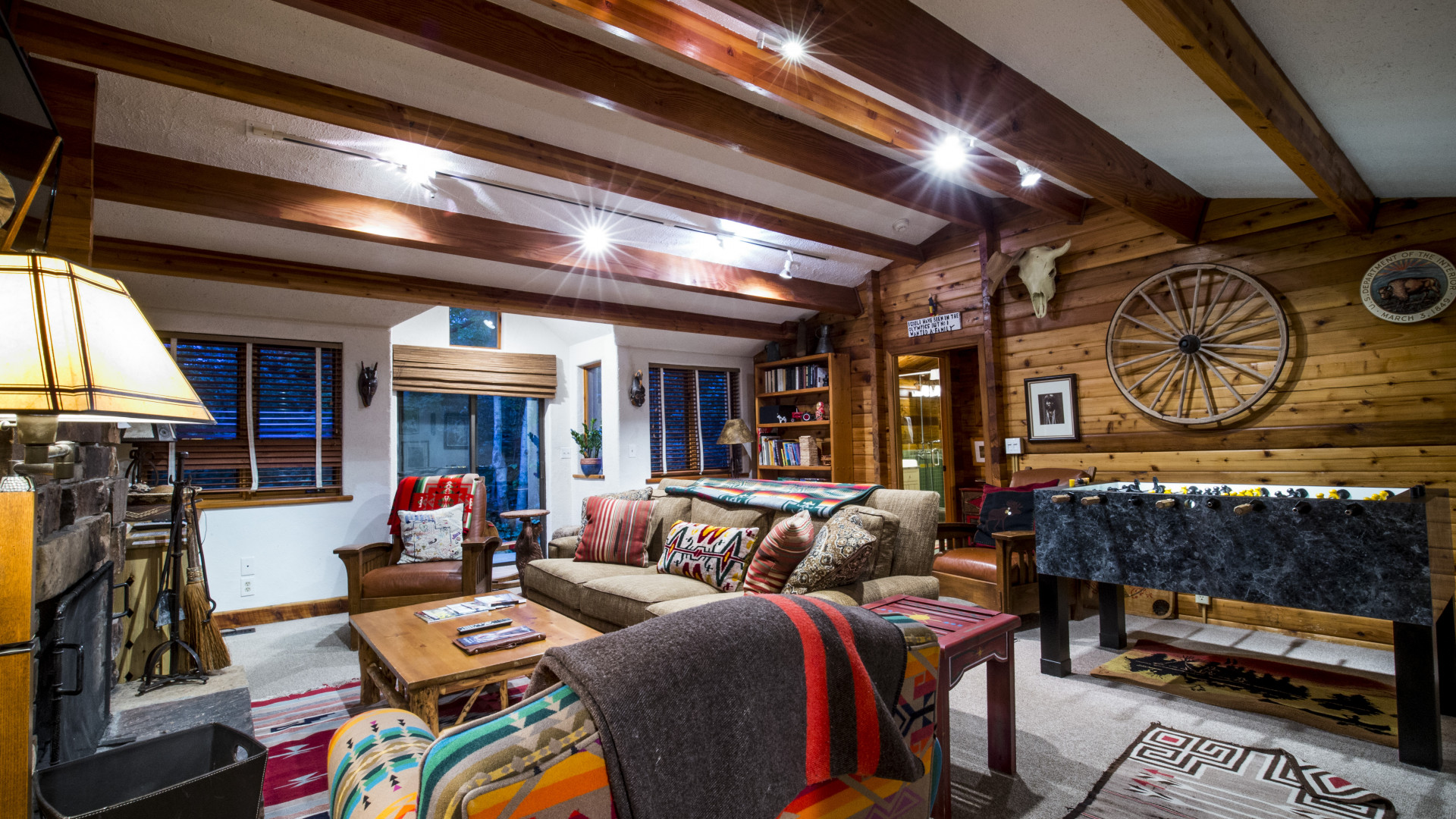 Interiors at Sundance Mountain Resort, Utah