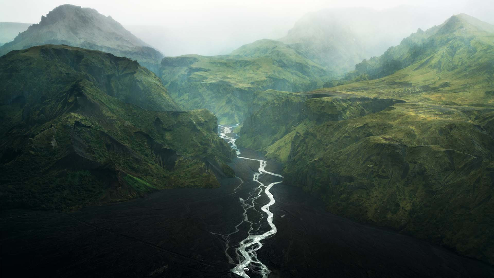 Thórsmörk (the valley of Thor), Iceland