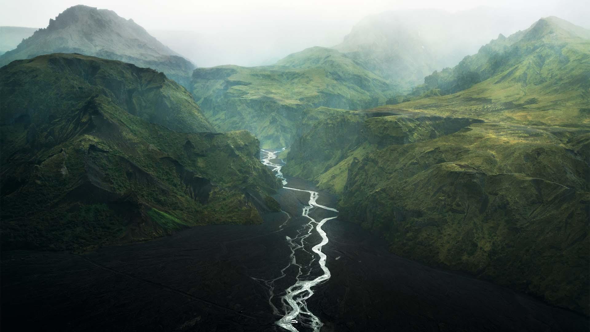 Thórsmörk (the valley of Thor), Iceland