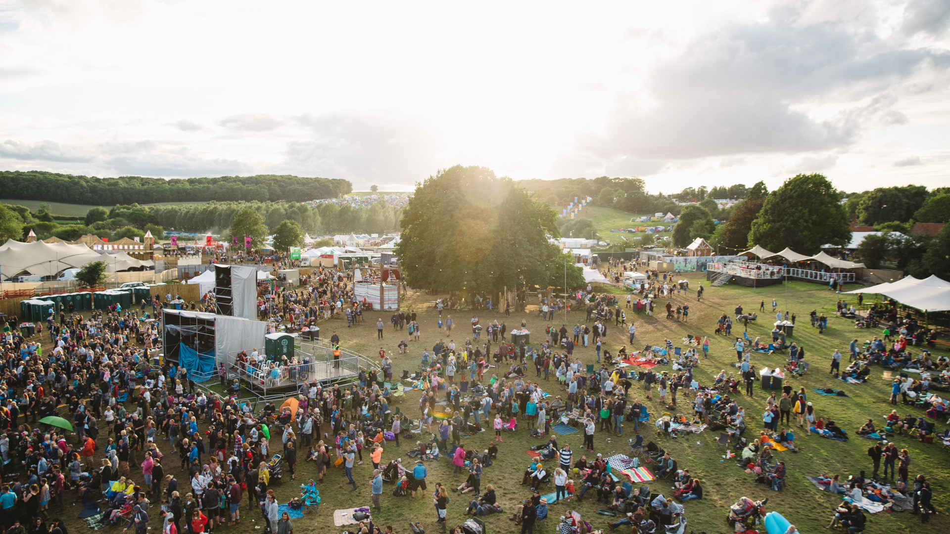 The Standon Calling festival site