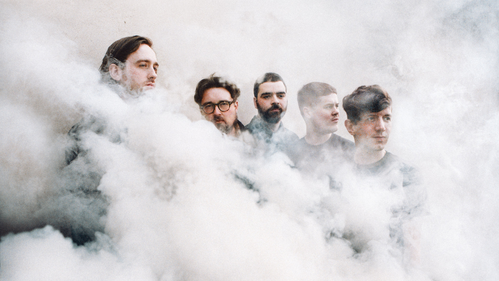Hookworms press shot, the band will play All Points East in London this summer