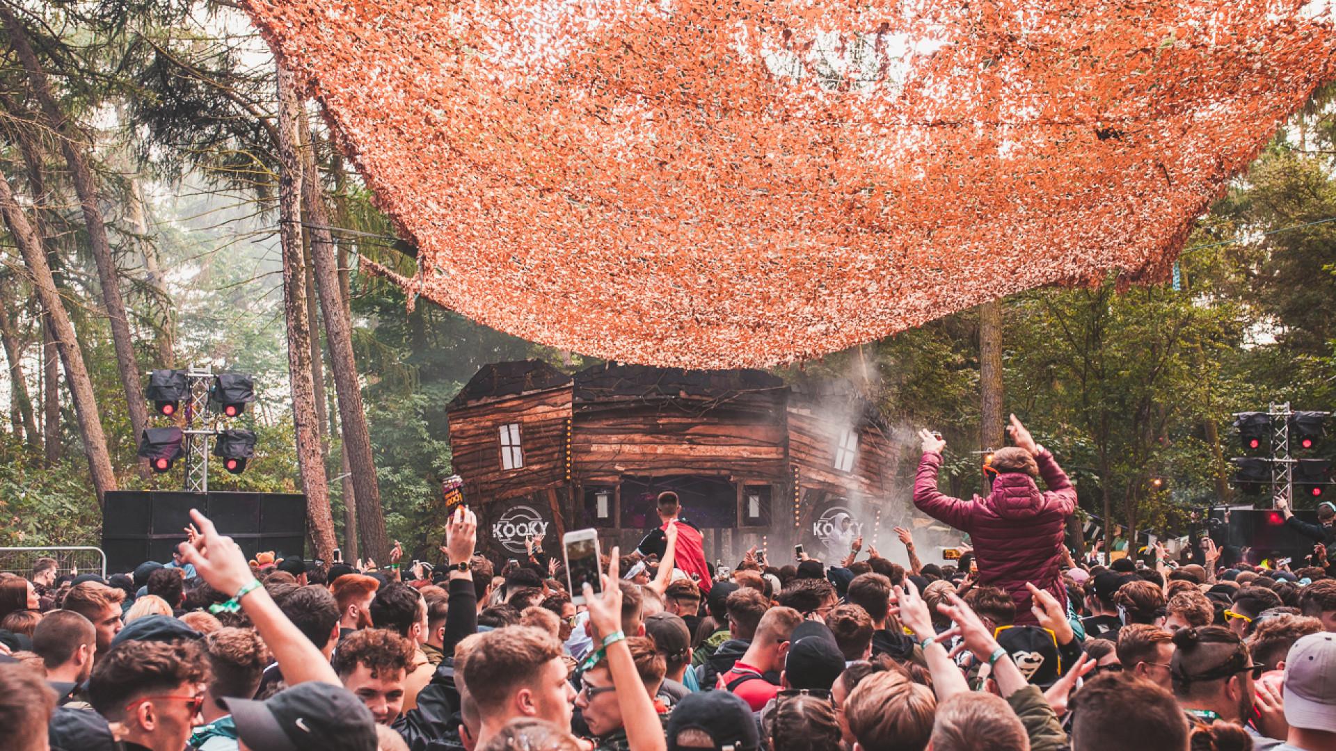 EDM festival Forbidden Forest