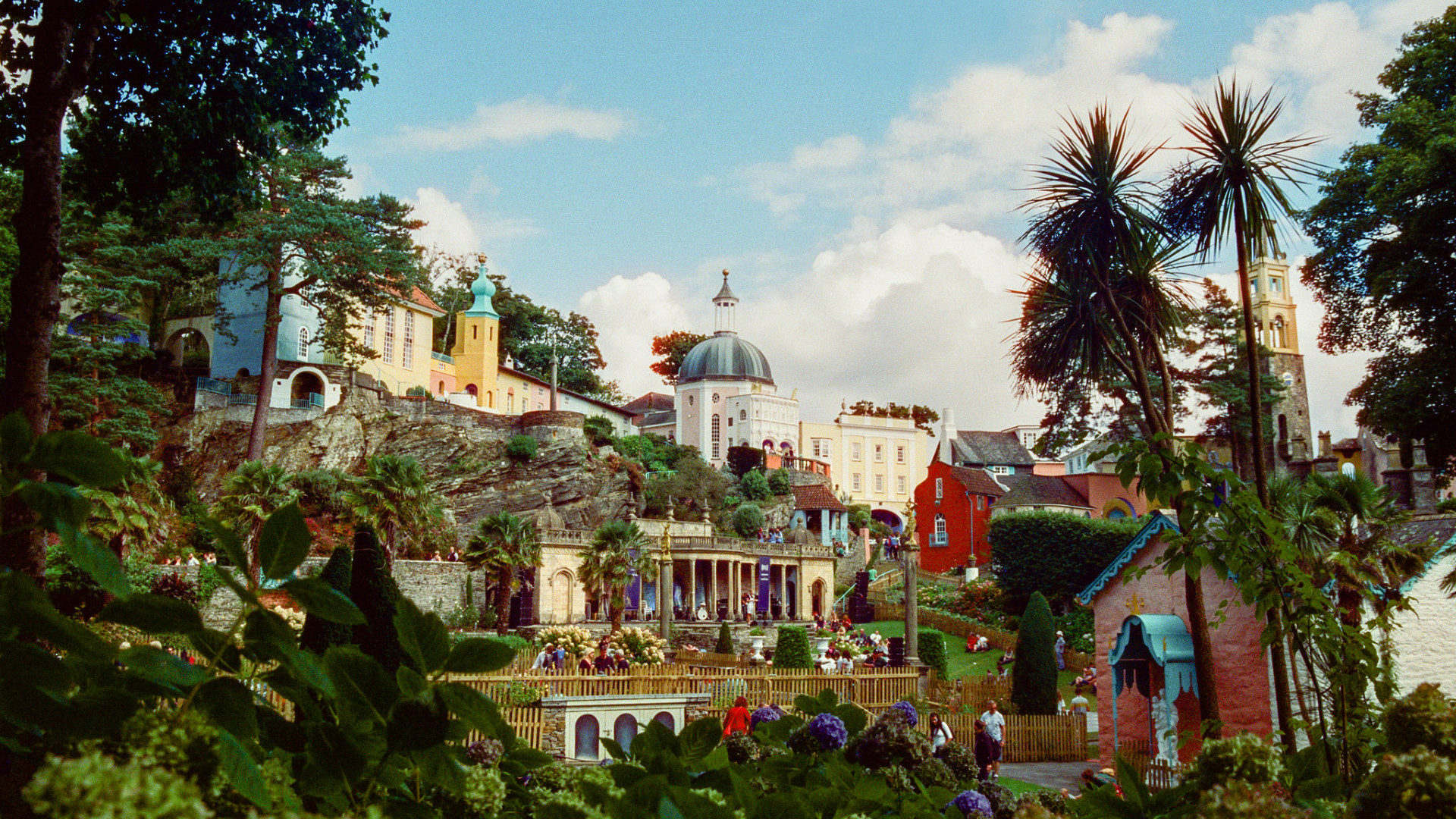 Festival No.6 in Portmeirion, Cornwall