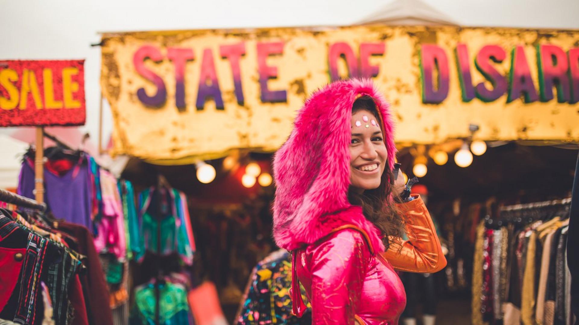 Farr Festival is full of festival outfits