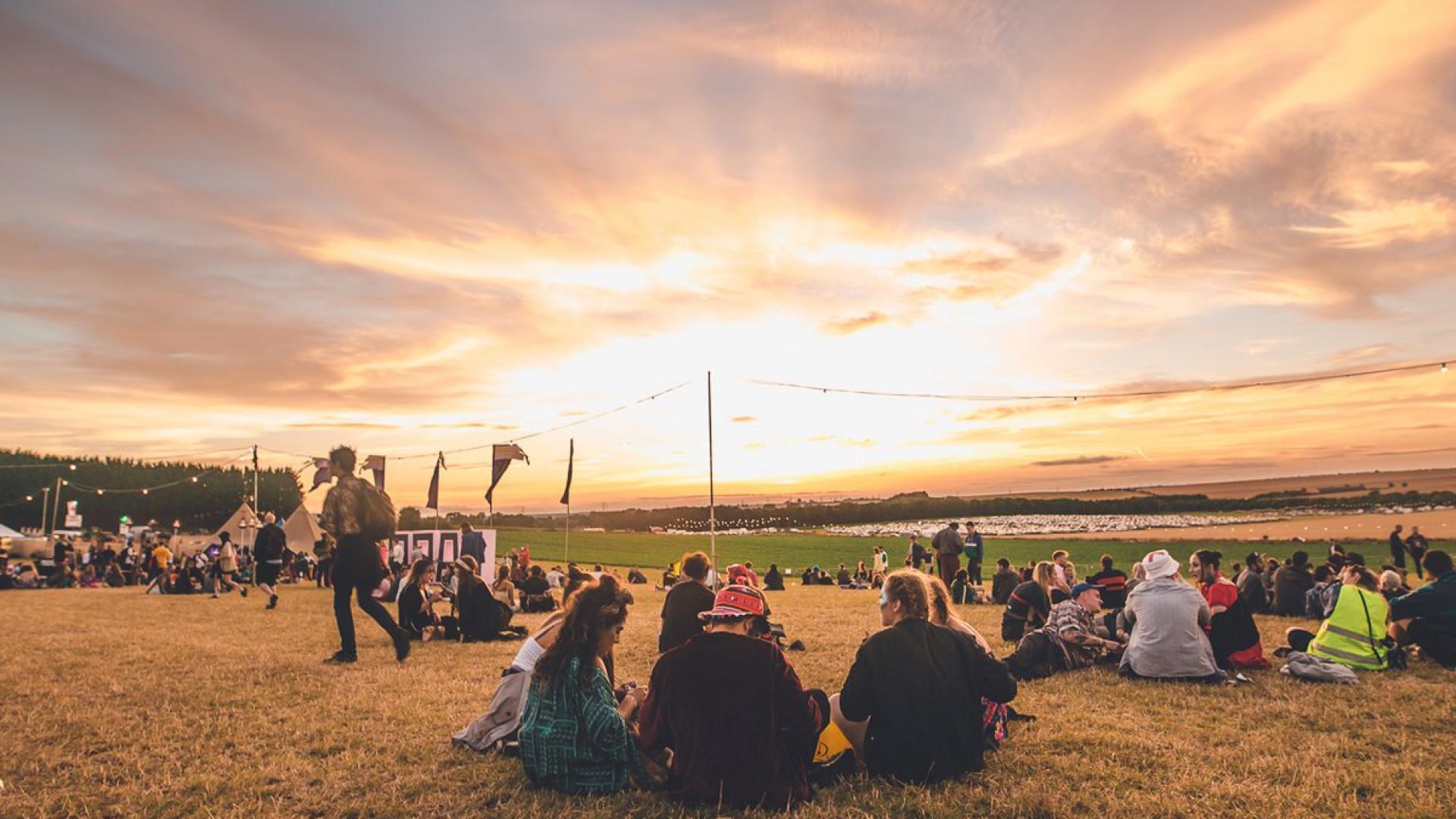Sunset at Farr Festival