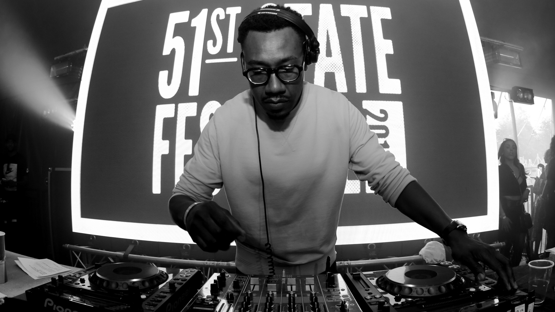 DJ at 51st State festival