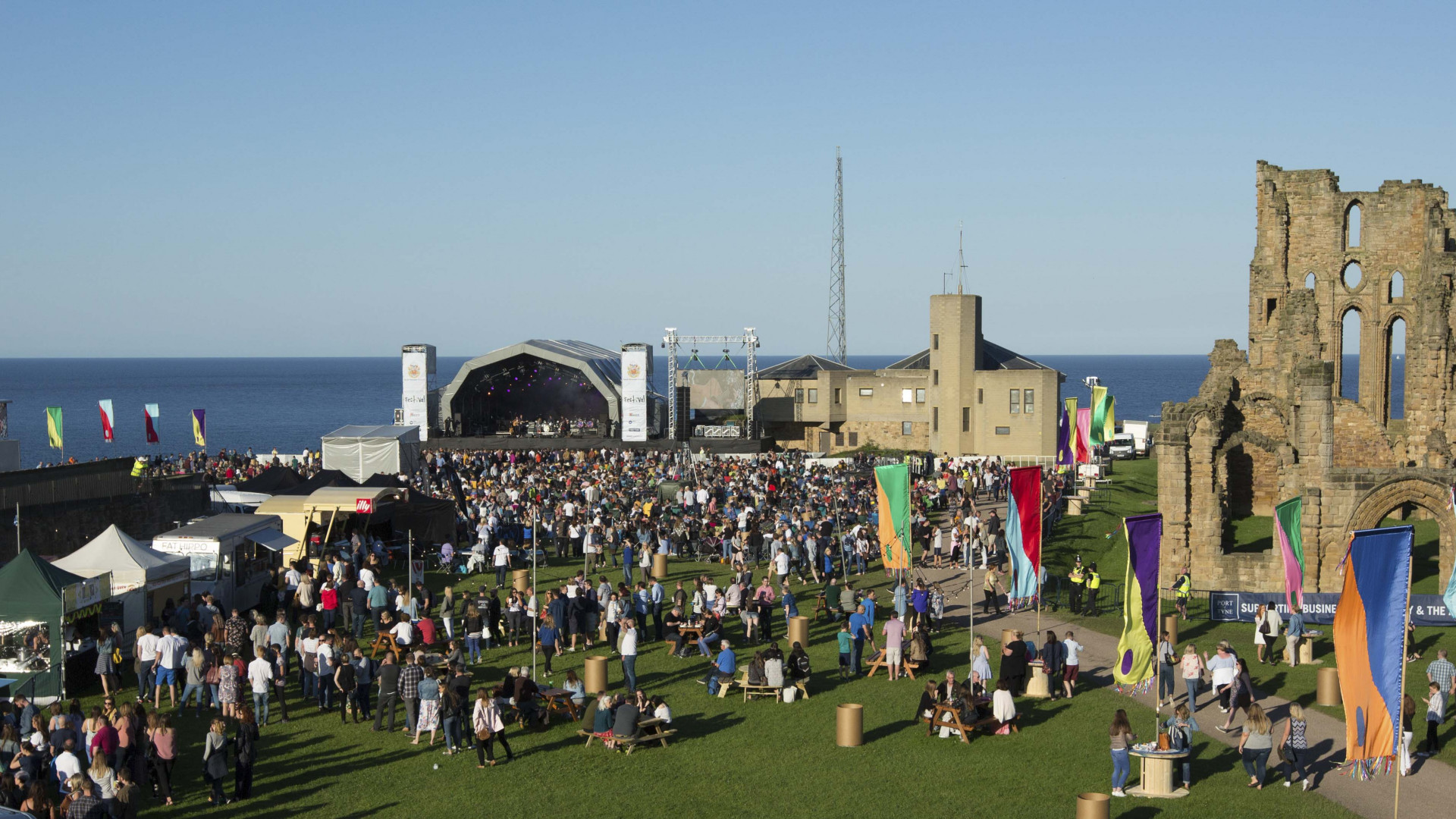 Mouth of the Tyne festival is set in Newcastle