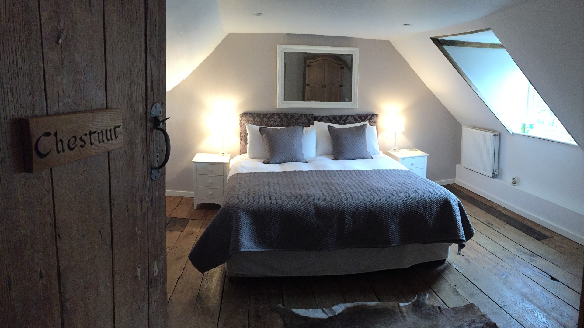 A gorgeous room at Green Farm, Kent
