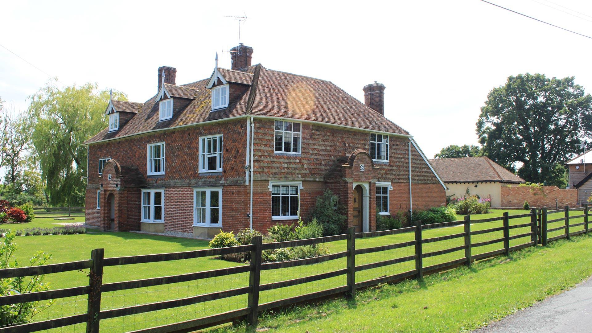 Green Farm's retreats revolve around a country house