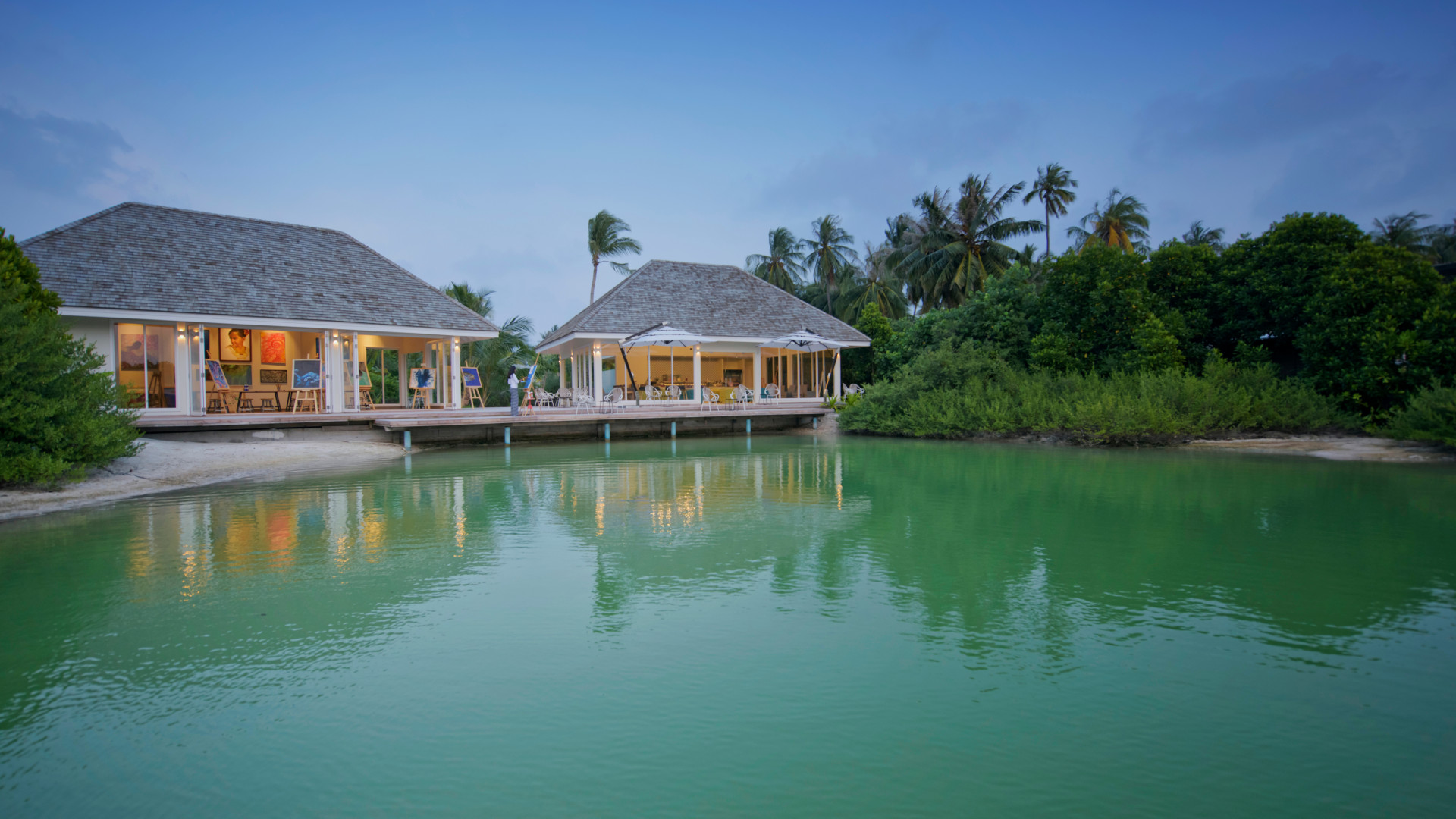 Kandima Maldives' art studio