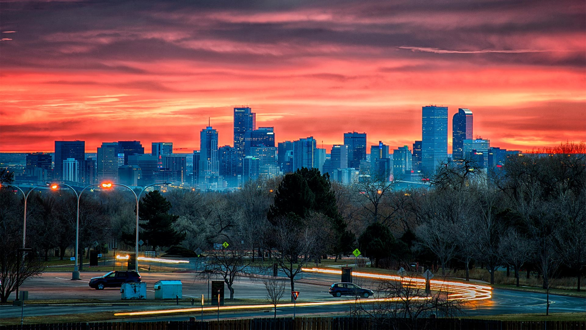 Lower Downtown skyline in Denver, Colorado