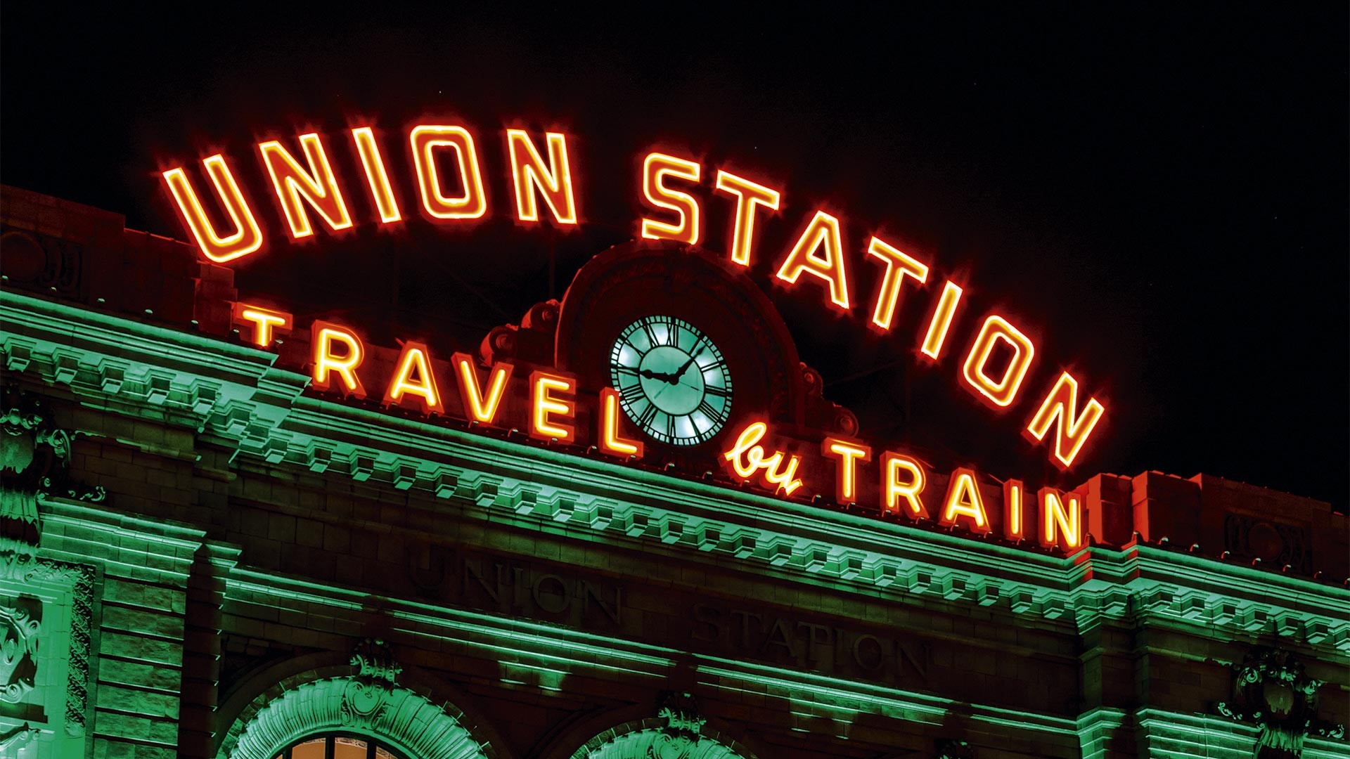 Union Station in downtown Denver
