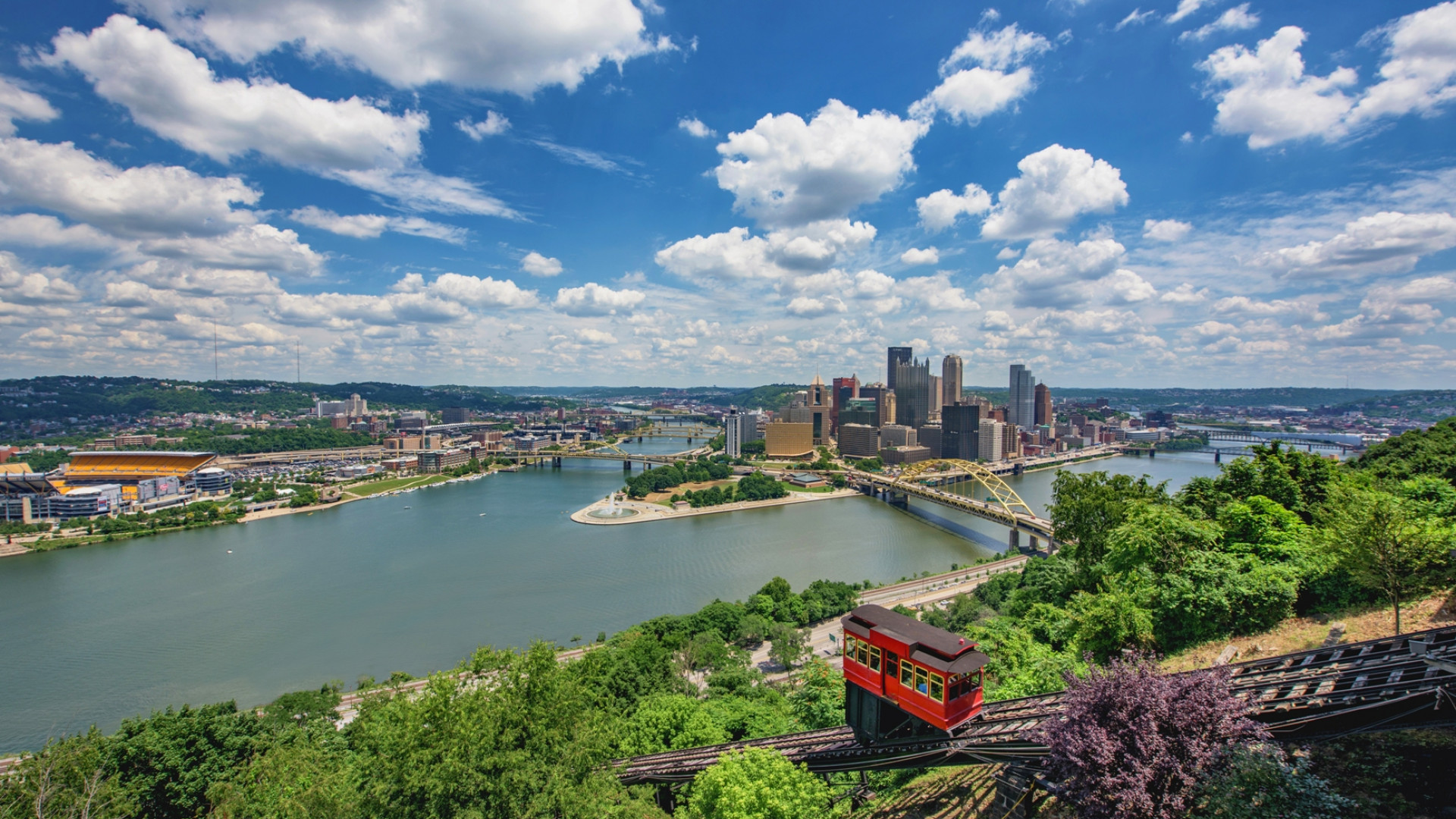 The Dusquesne Incline, Pittsburgh