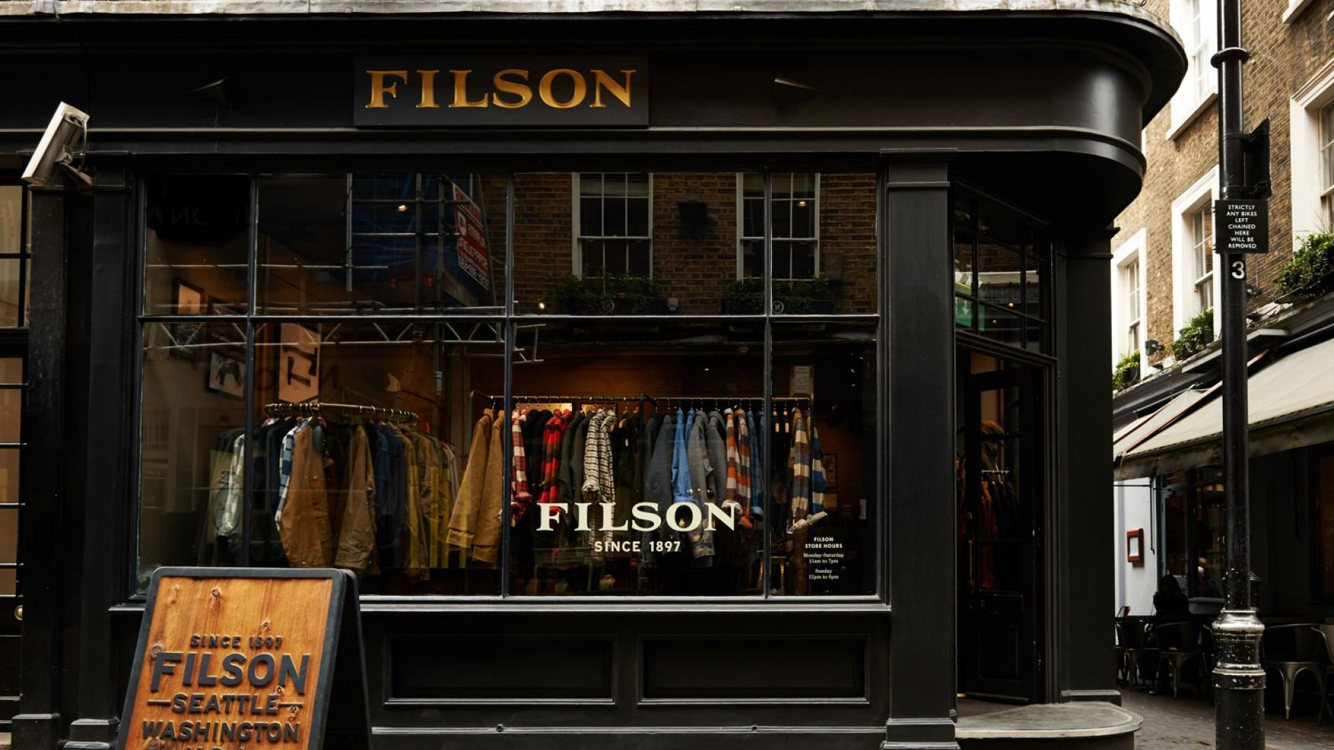 Filson store London