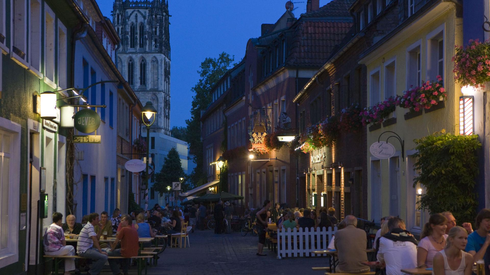 Münster's Kuhviertel district
