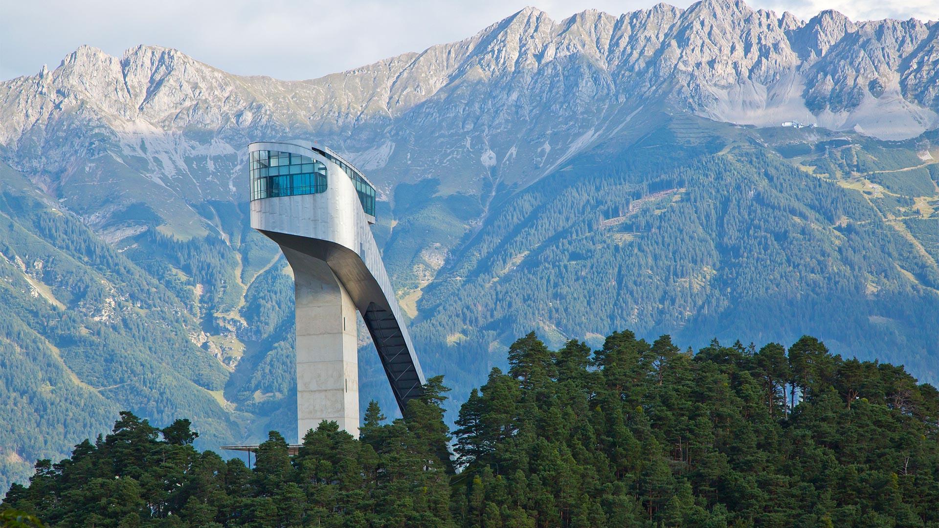 The Bergisel Ski Jump