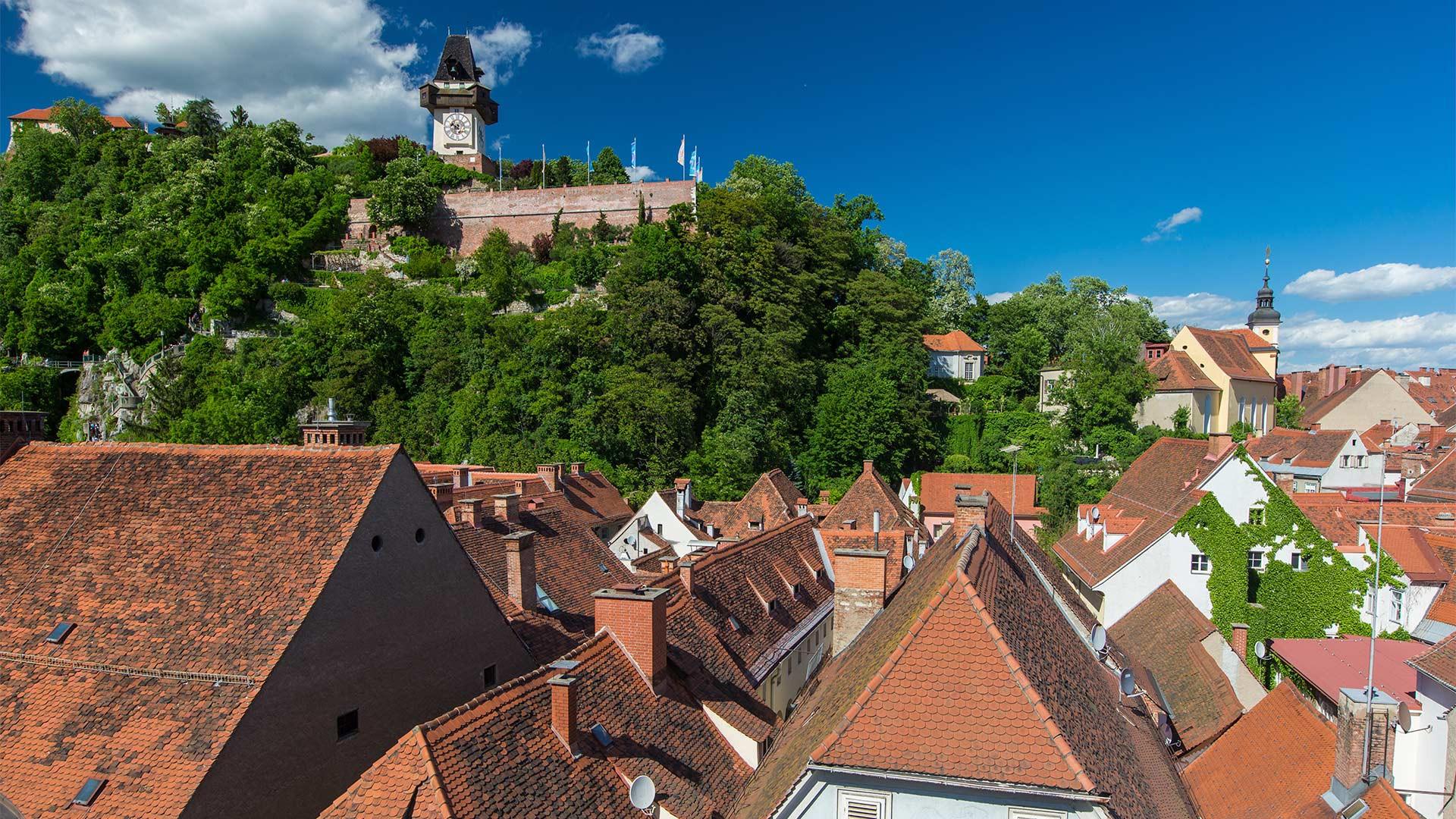 City views in Graz, Austria