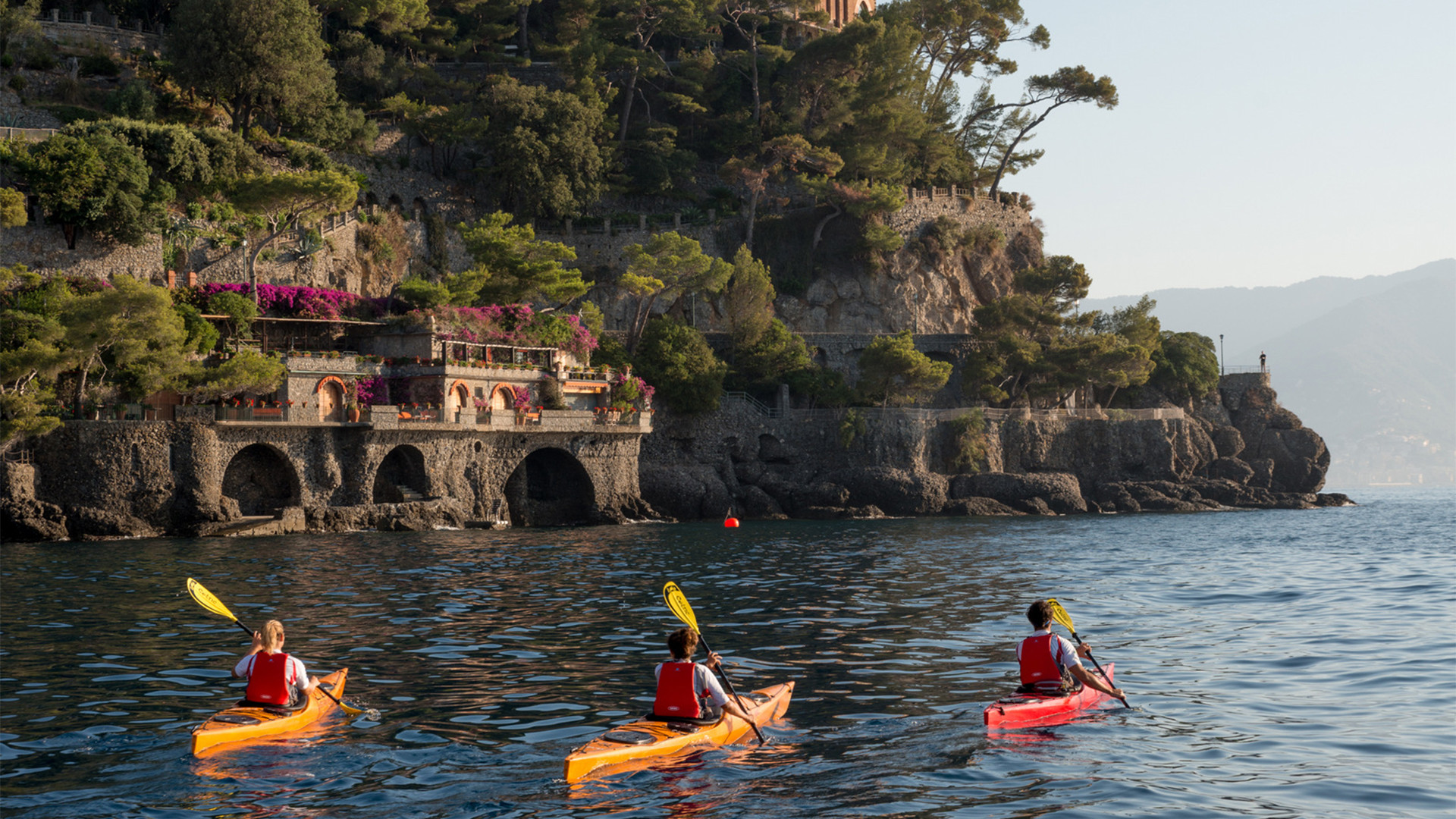 Kayaking in Portofino and Cinque Terre, Italy