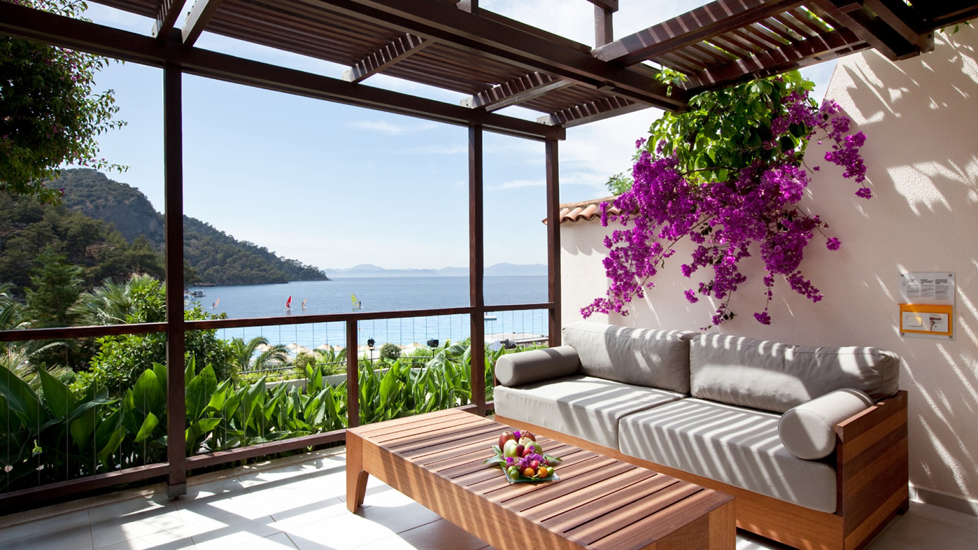 Verandah at Hillside Beach Club luxury resort